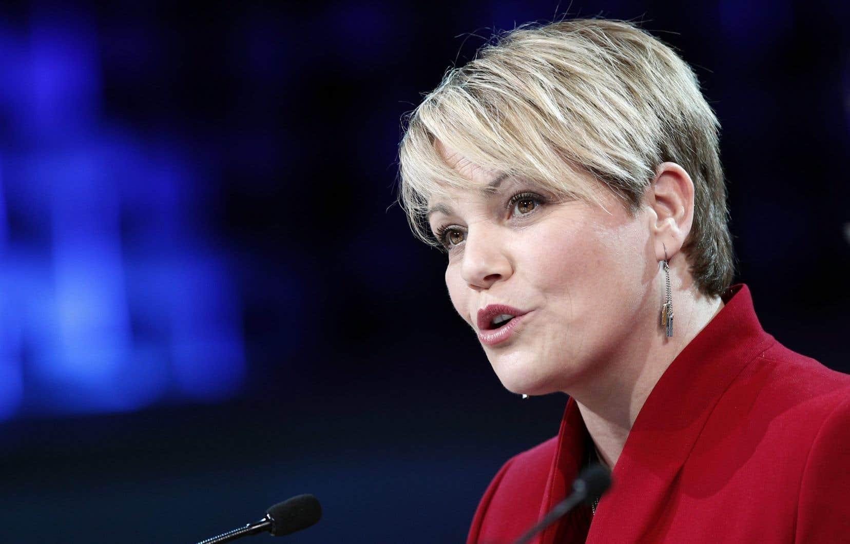 La ministre de l'Environnement Isabelle Melançon