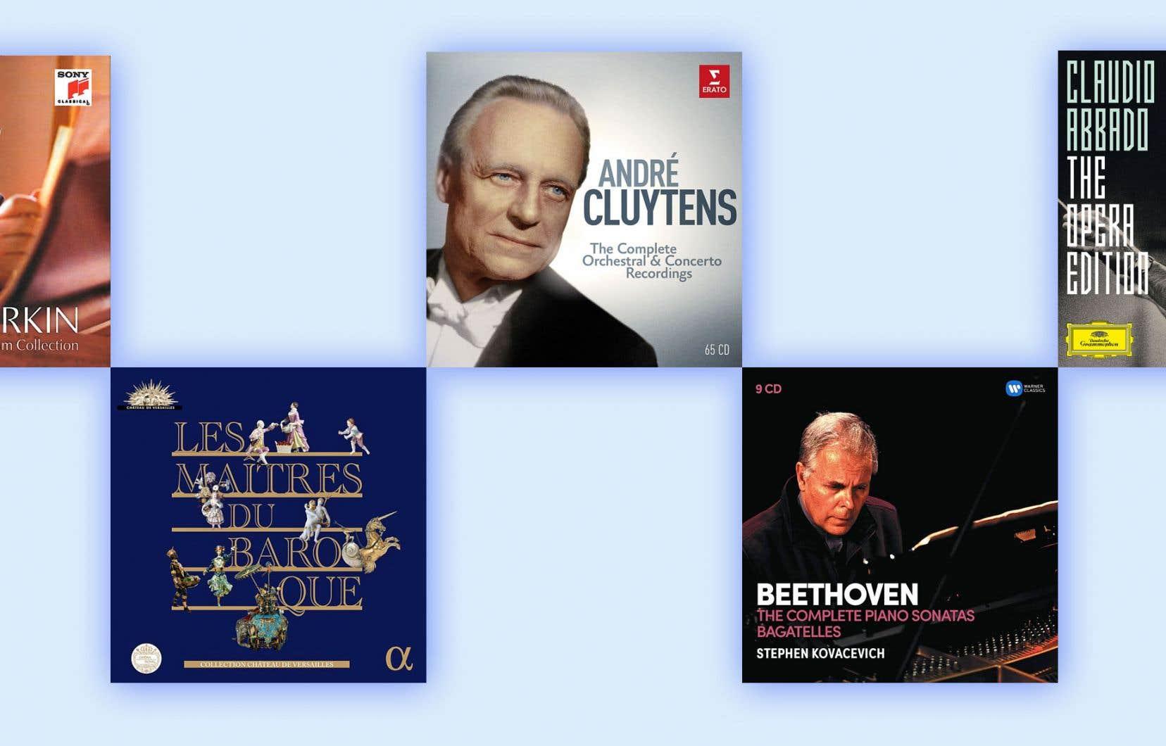 Une sélection des cinq meilleurs coffrets de musique classique de l'année par notre critique Christophe Huss.