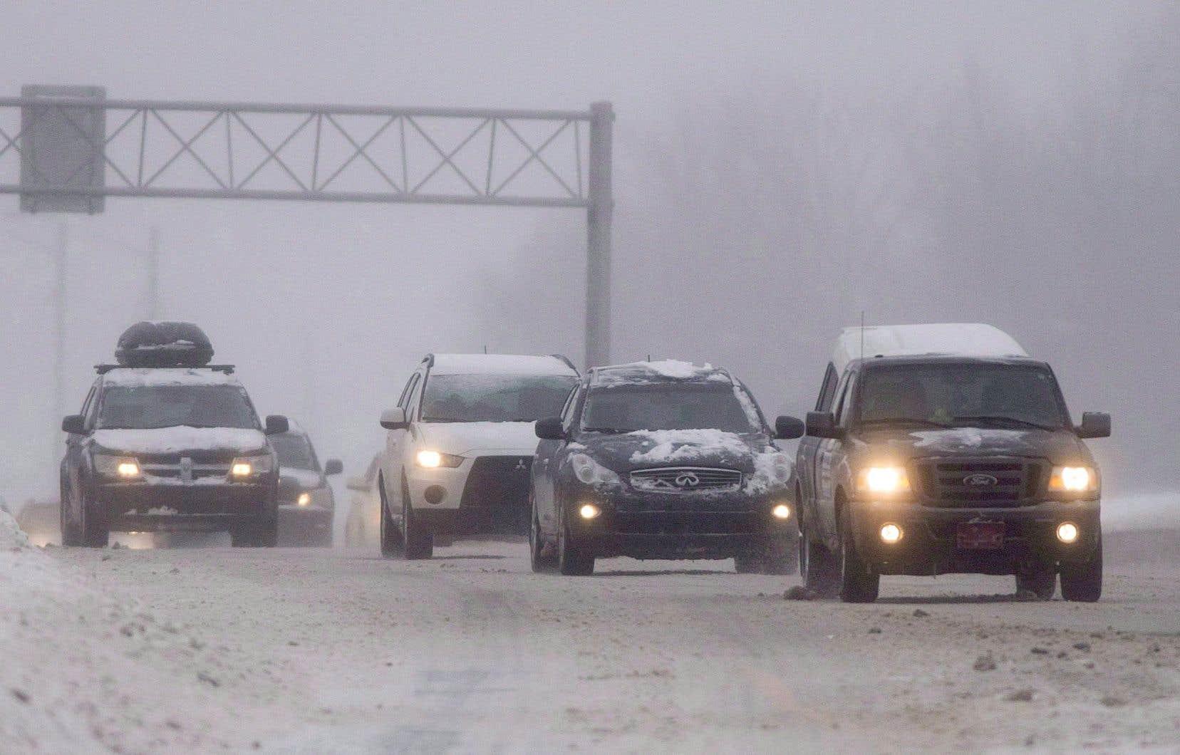 Les automobilistes sont invités à surveiller attentivement les bulletins météorologiques des prochains jours.