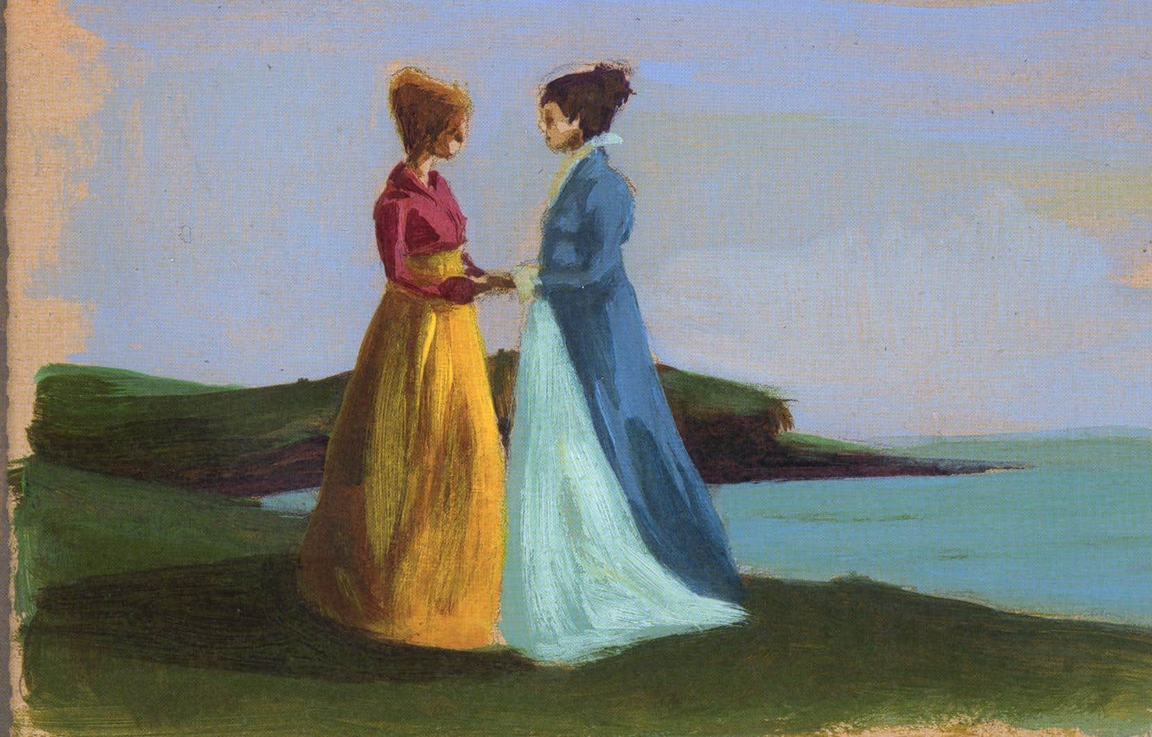Les sœurs Elinor et Marianne Dashwood