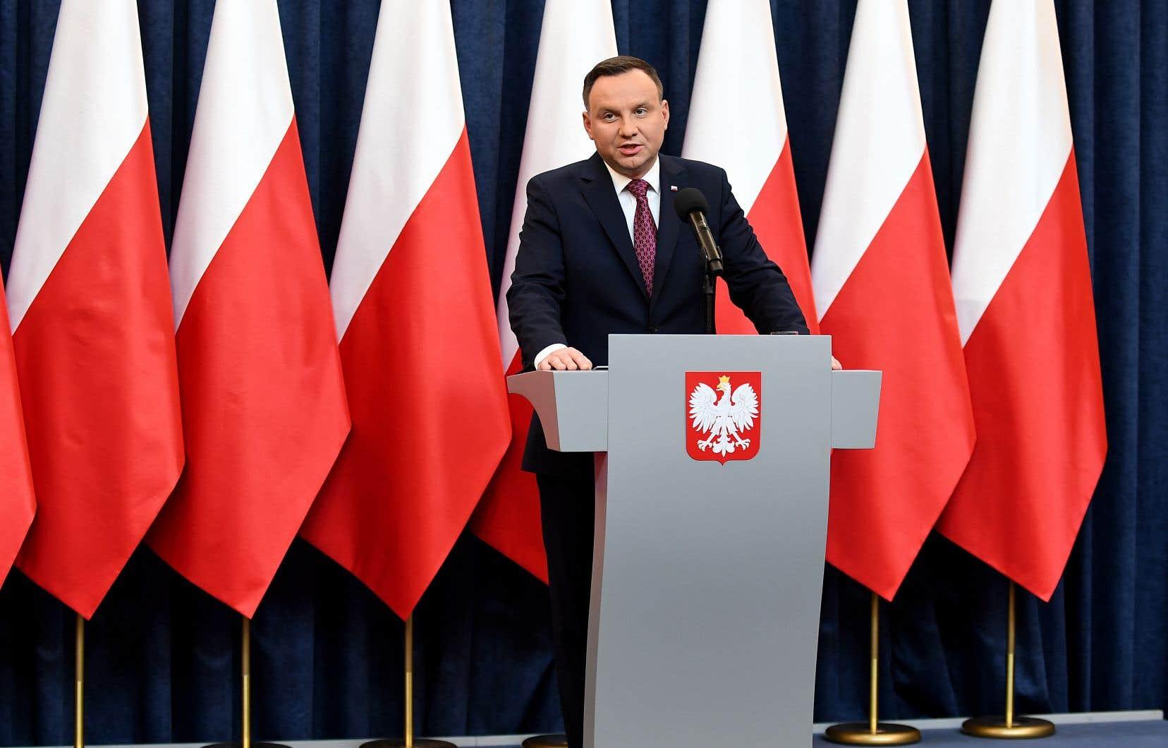 Le président polonais, Andrzej Duda