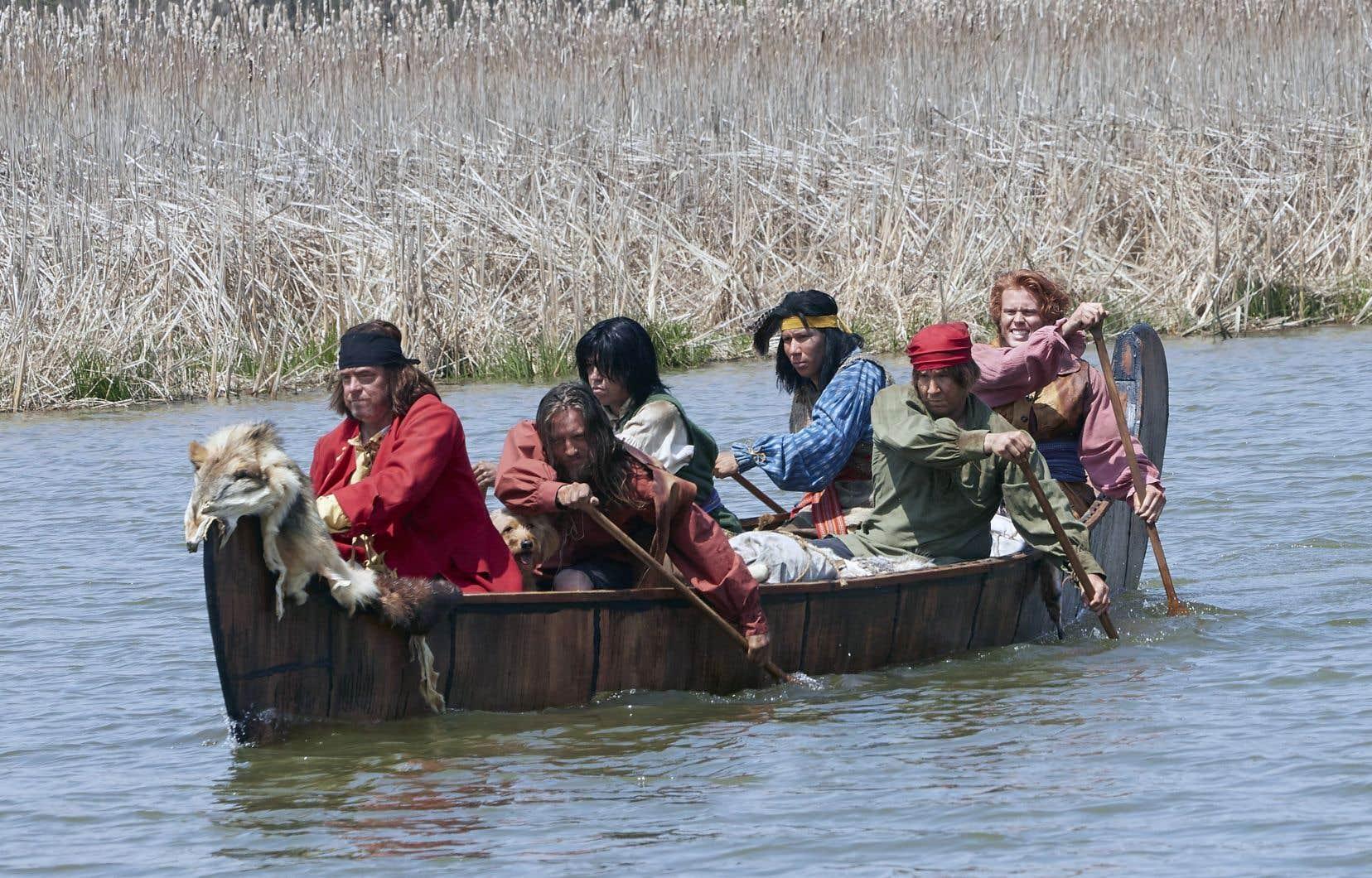 La série «The Story of Us», diffusée à la CBC au printemps dernier, fut critiquée par plusieurs chercheurs et intervenants pour sa sous-représentation des francophones et des autochtones dans l'histoire du Canada.