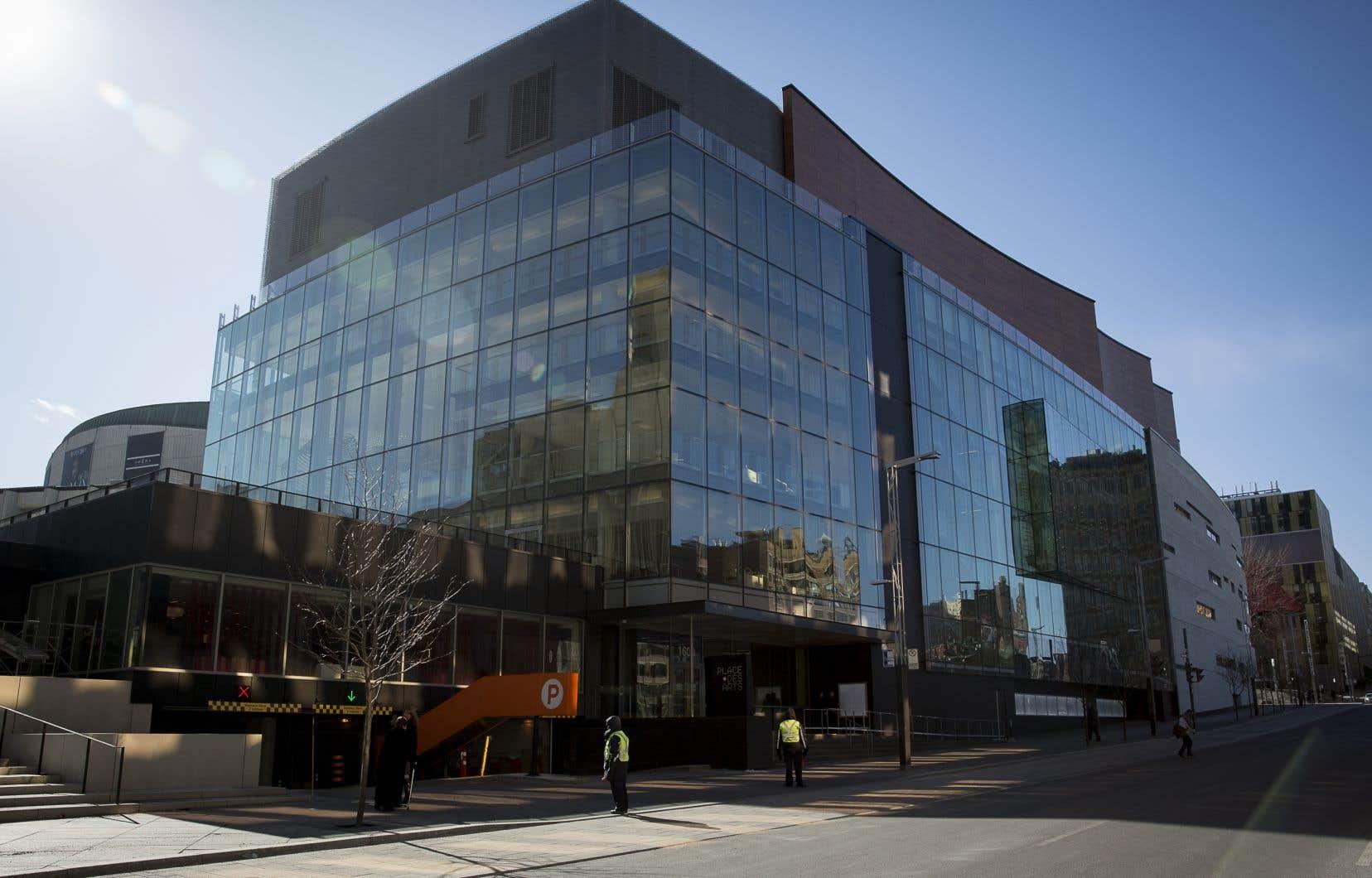 L'édifice de la Maison symphonique de Montréal