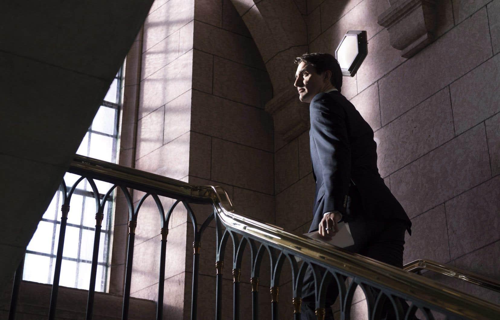 Le premier ministre Justin Trudeau, le 20 décembre dernier