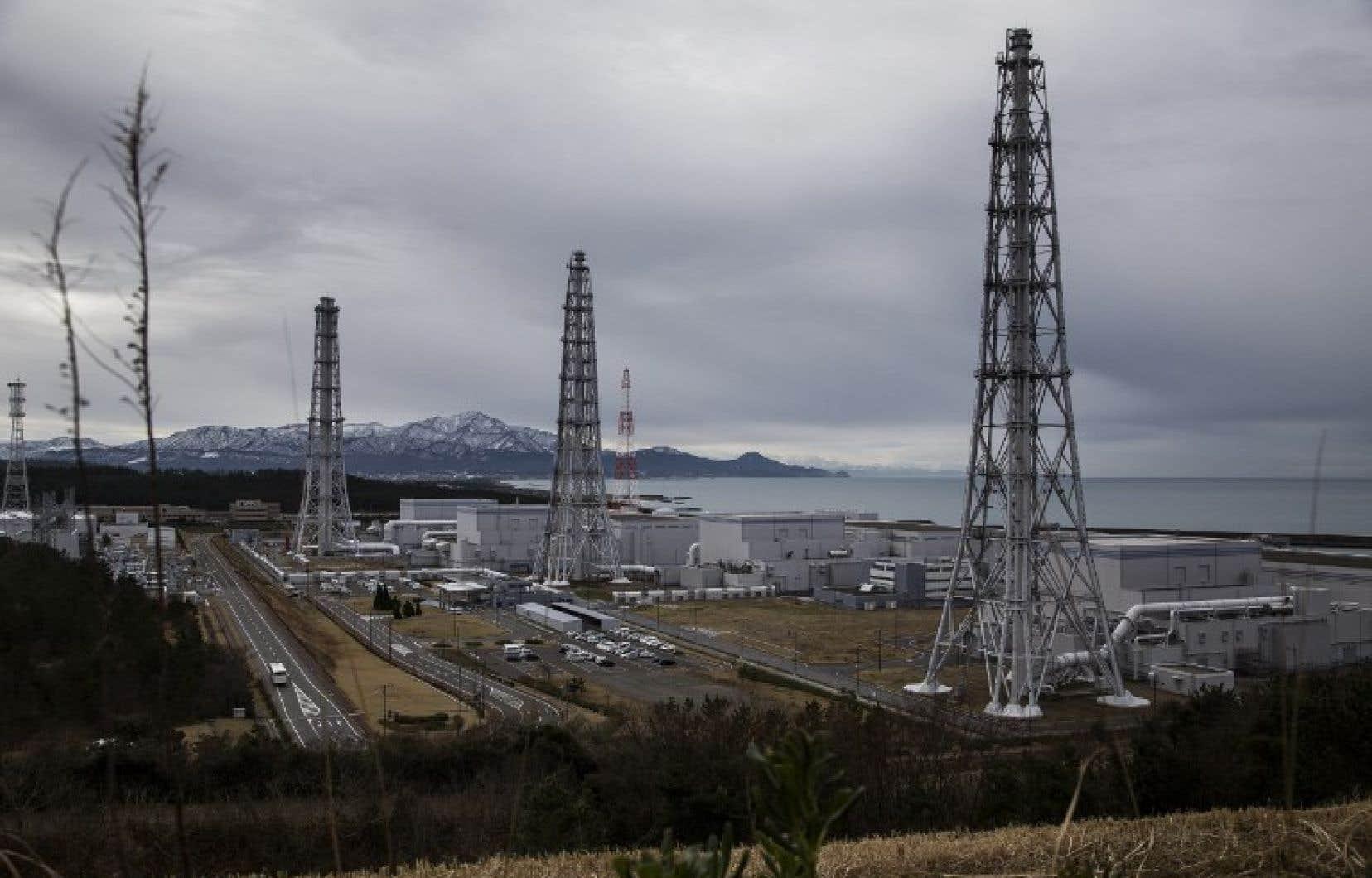 La centrale nucléaire de Tepco, à Kashiwazaki-Kariwa, dans la préfecture de Niigata
