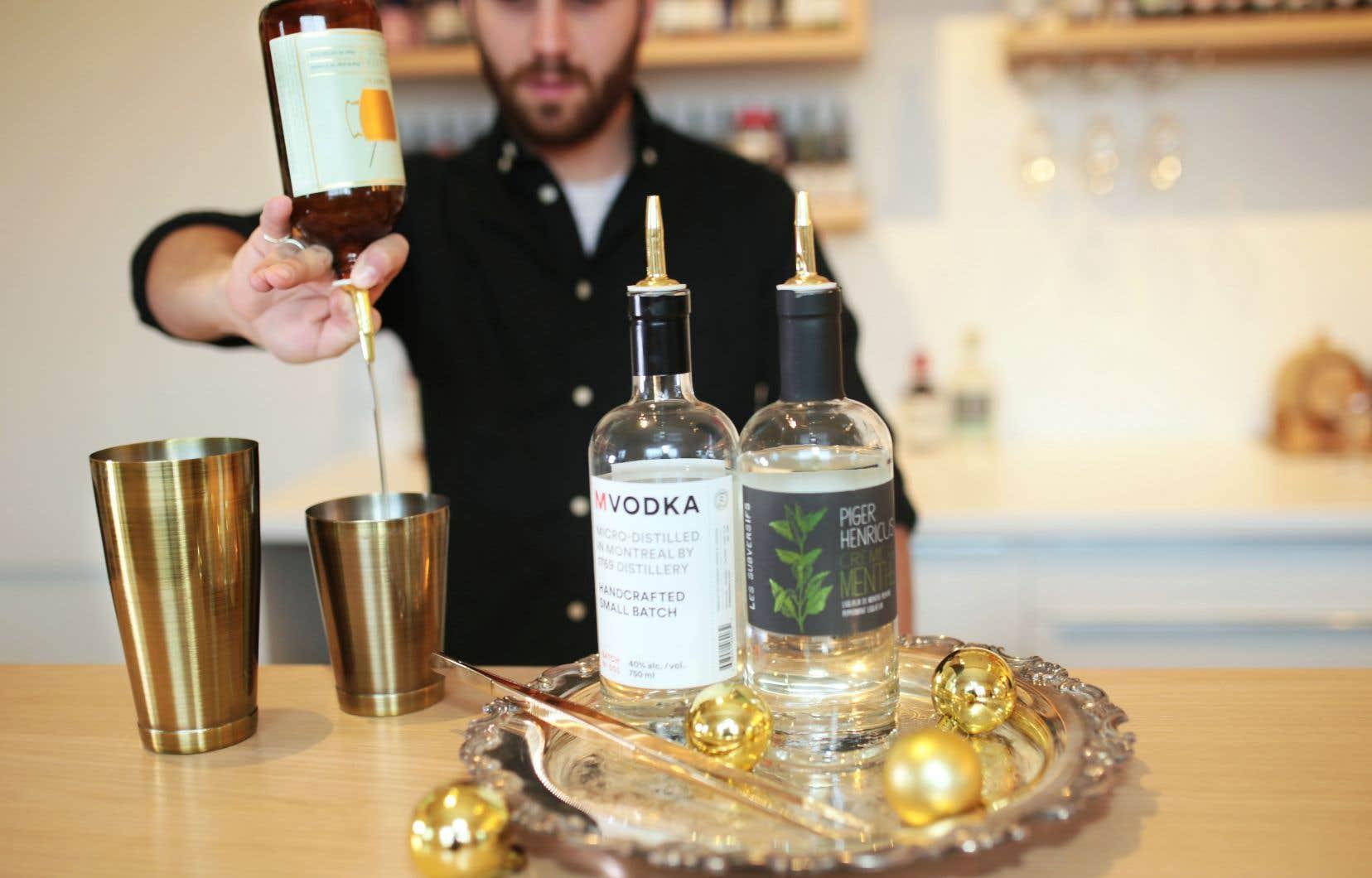 La vodka est au cœur de la confection de cocktails que proposent dans nos pages Manuel Perrier et Jean-Sébastien Michel.