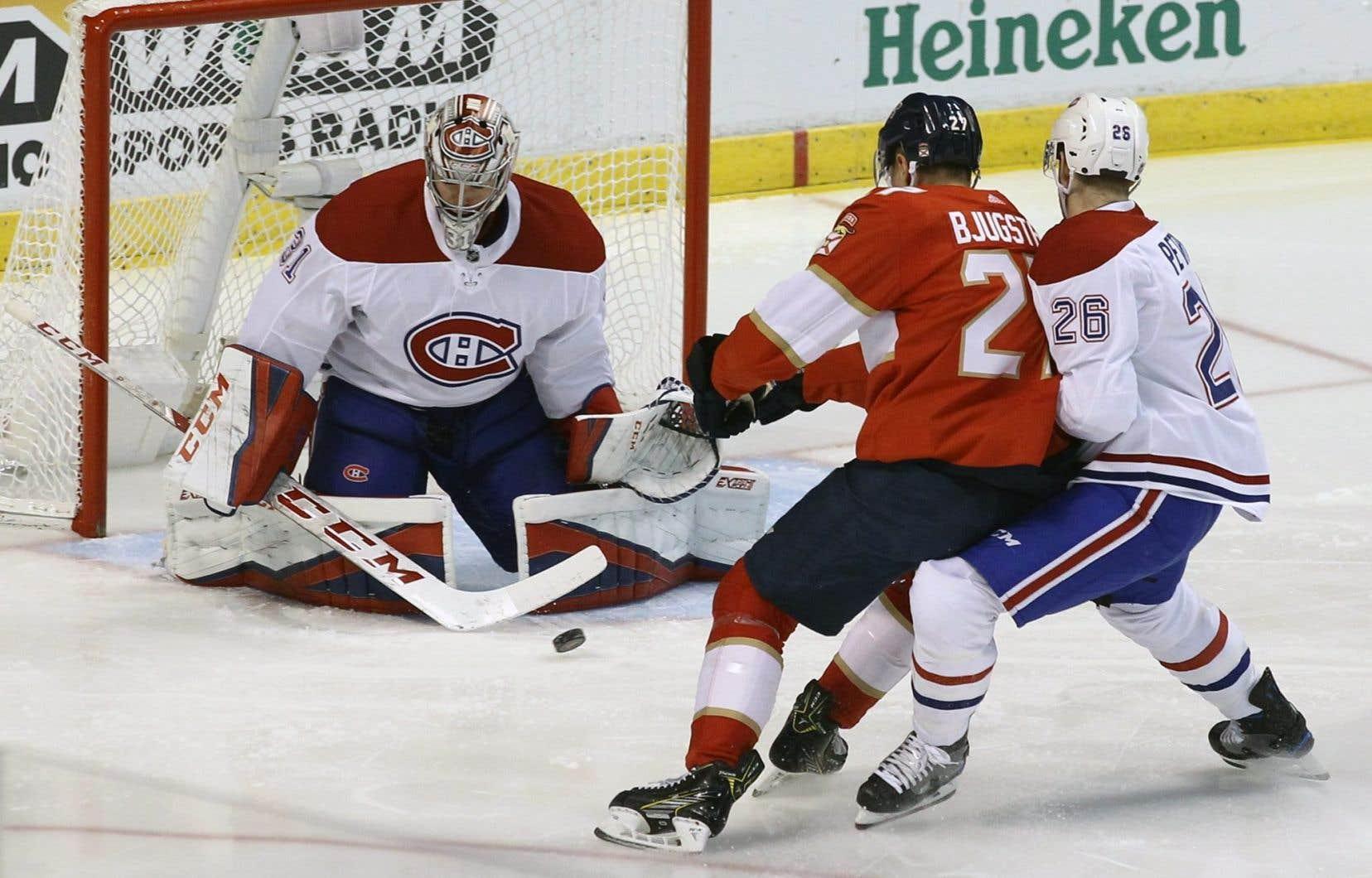 Carey Price a effectué 31 arrêts, mais le Canadien a subi une quatrième défaite d'affilée.