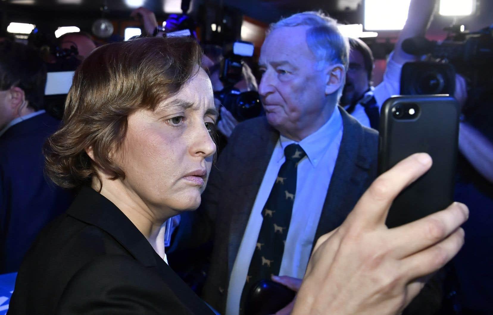 La responsable du parti Alternative pour l'Allemagne (AfD) Beatrix von Storch