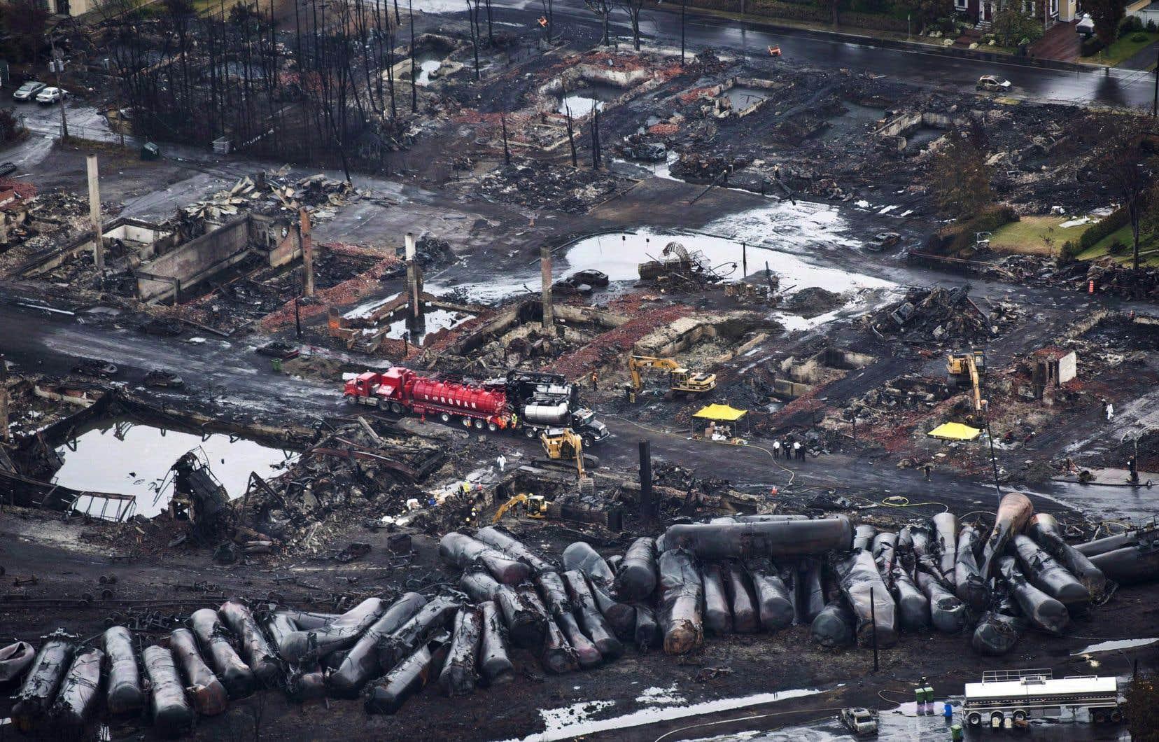 La tragédie de Lac-Mégantic a coûté la vie à 47 résidants de cette petite ville de l'Estrie.