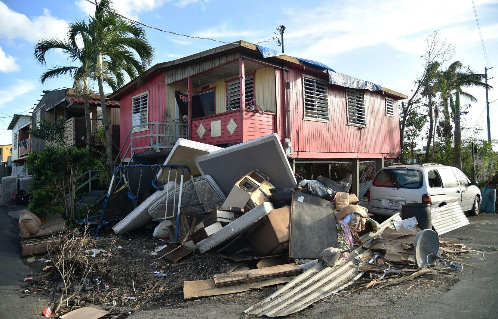 L'ouragan «Maria» a eu des effets ravageurs à Porto Rico, détruisant tout sur son passage.