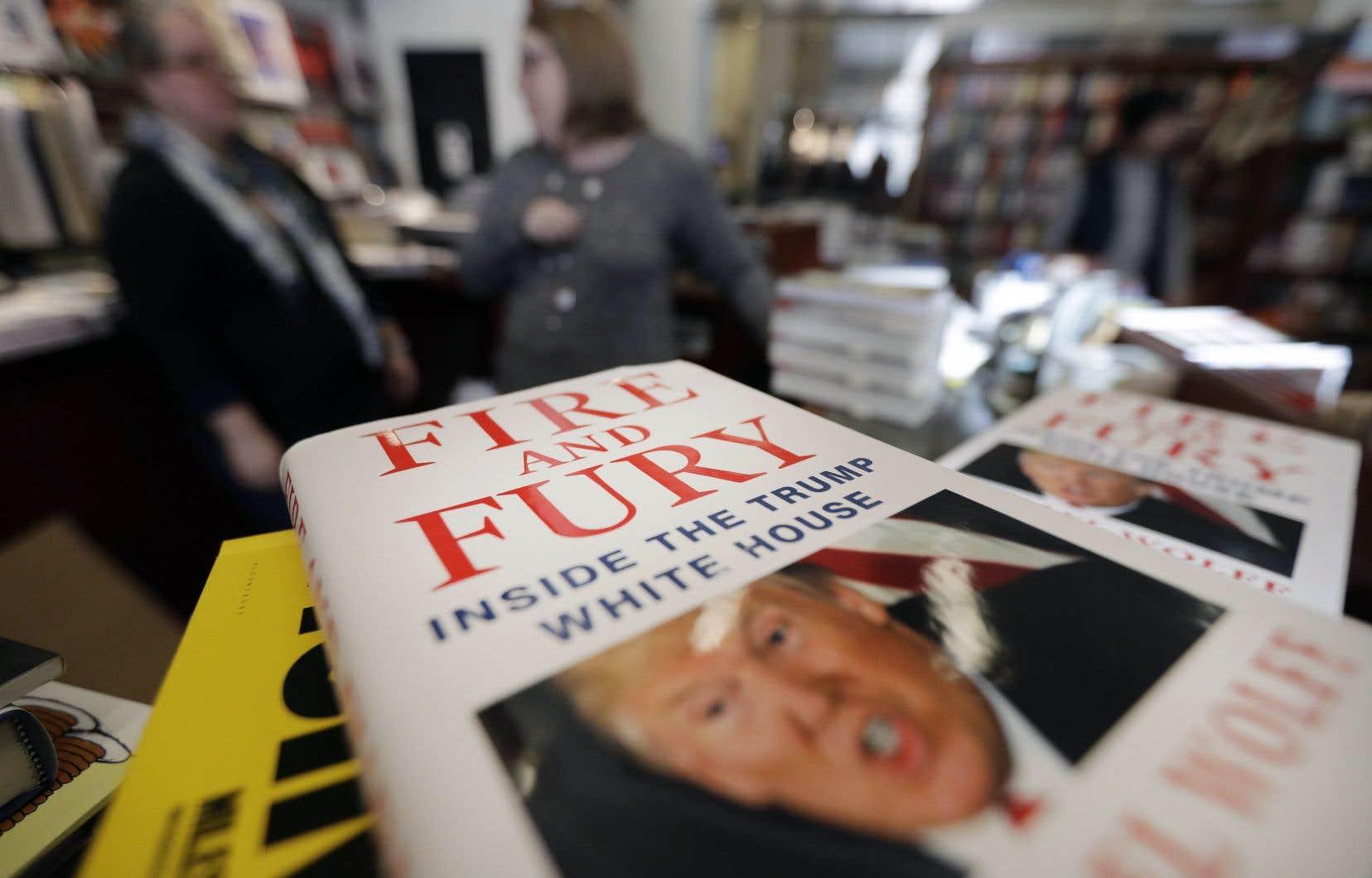 La publication du livre «Fire and Fury: Inside the Trump White House» («Le feu et la fureur: à l'intérieur de la Maison-Blanche de Trump») a suscité la colère de Donald Trump.