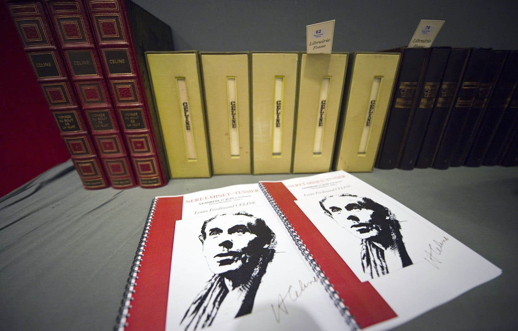 L'éditeur Gallimard prévoit de publier, sous le titre «Écrits polémiques», un volume rassemblant les textes antisémites et racistes de Céline: «Bagatelles pour un massacre», «L'école des cadavres» et «Les Beaux draps»<em>.</em>