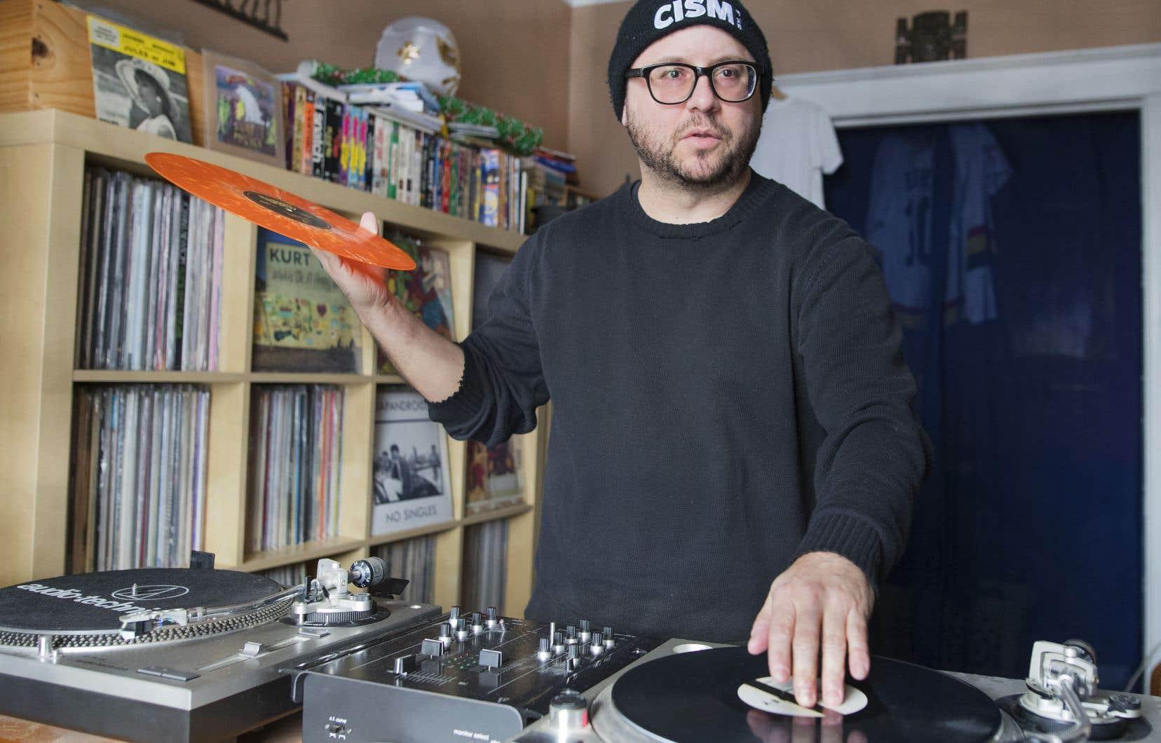 Jean-François Rioux caressait le rêve d'avoir son magasin de disque depuis 1999.