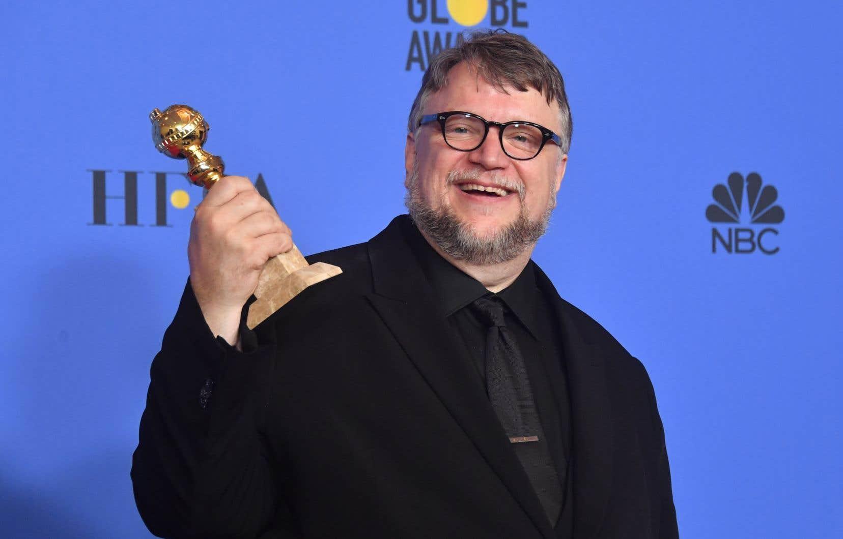 Guillermo del Toro a remporté le Golden Globe du meilleur réalisateur pour «<em>La forme de l'eau».</em>