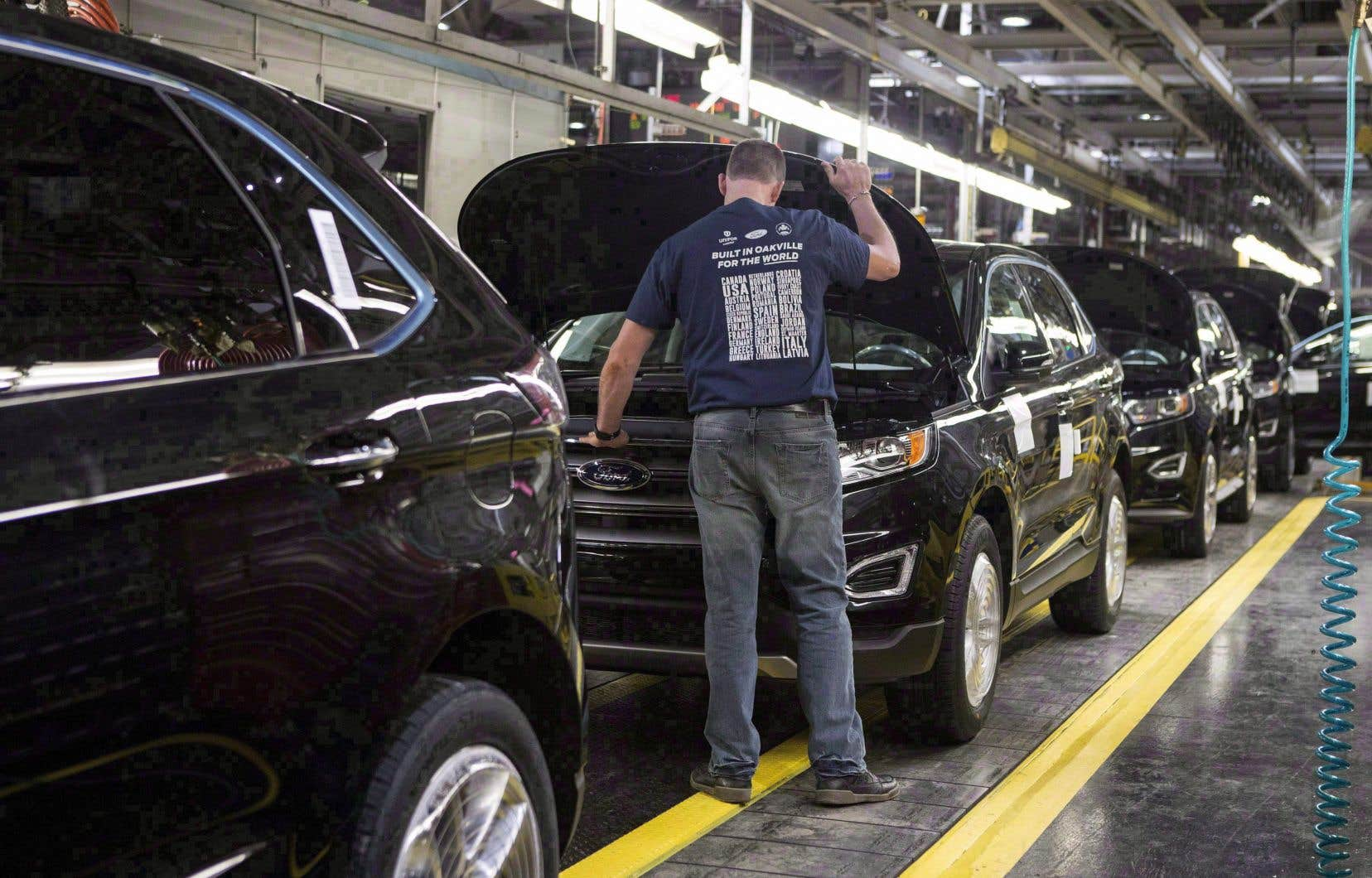 Les États-Unis demandent notamment une forte hausse du contenu américain minimal dans la fabrication des automobiles.