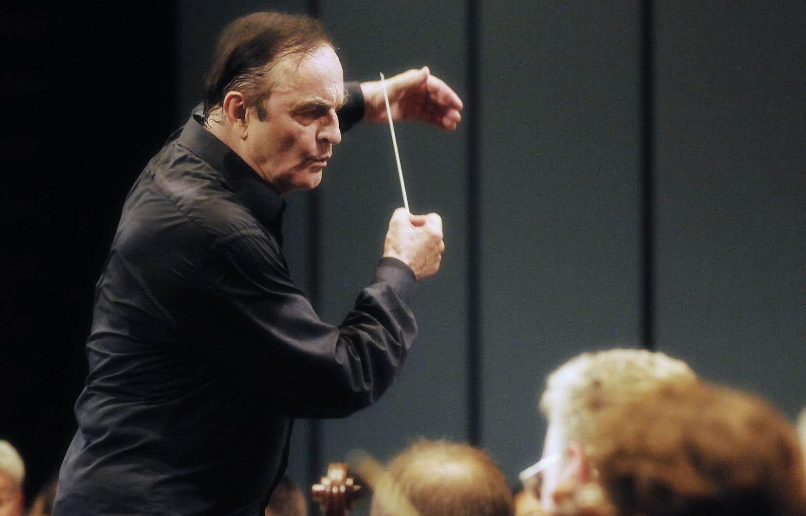 Le chef d'orchestre Charles Dutoit