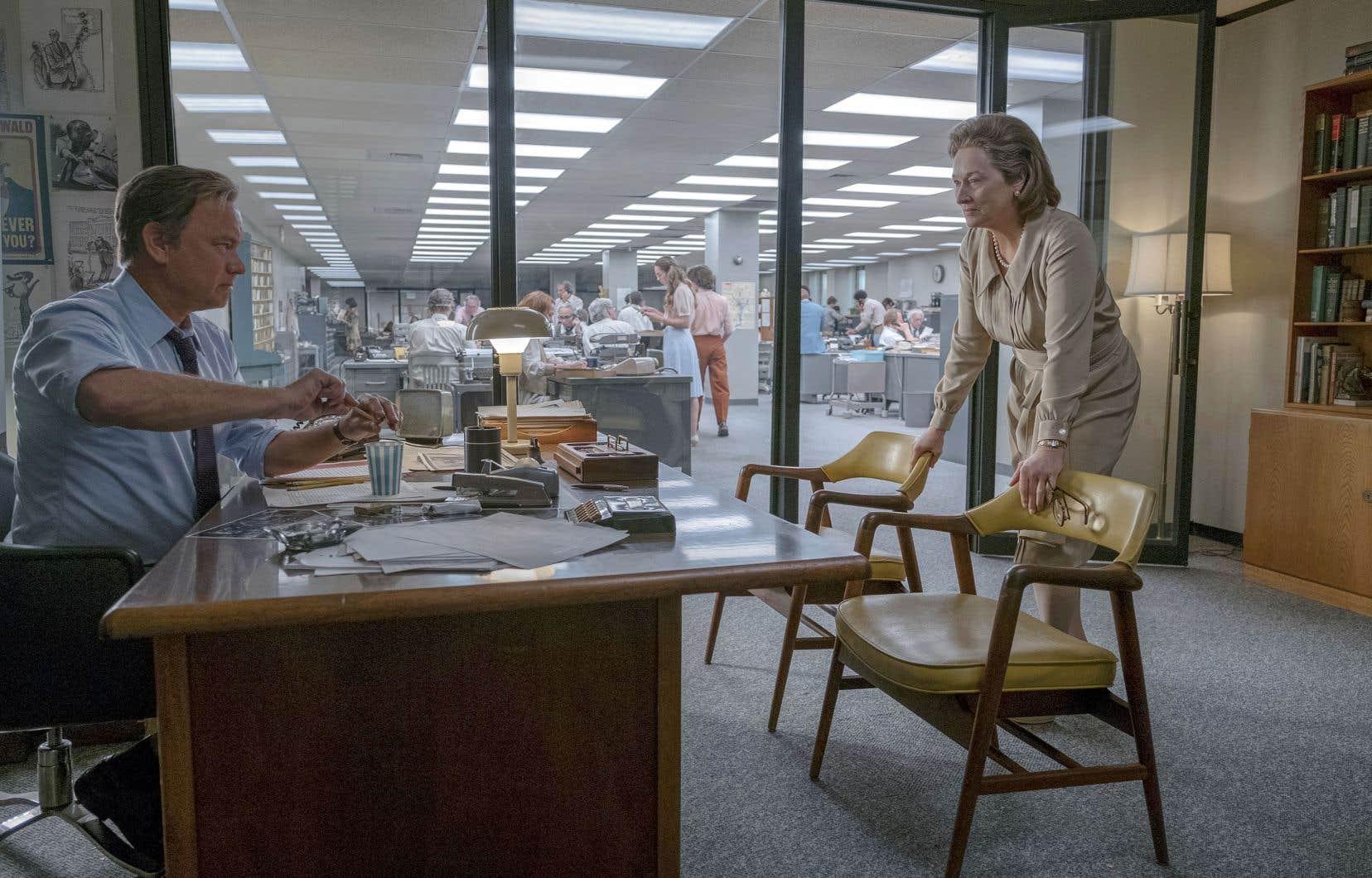 «Le Post» marque la rencontre au sommet entre Meryl Streep, Tom Hanks et le réalisateur Steven Spielberg. La première n'avait encore jamais tourné avec les deux autres qui, eux, en sont à leur cinquième collaboration.