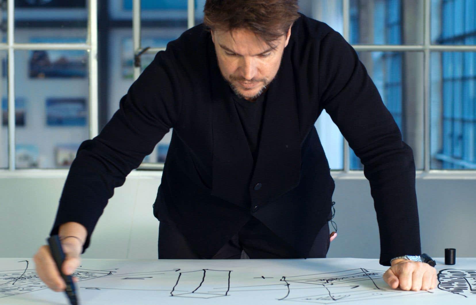 «Big Time» suit l'architecte danois Bjarke Ingels de Copenhague à New York.