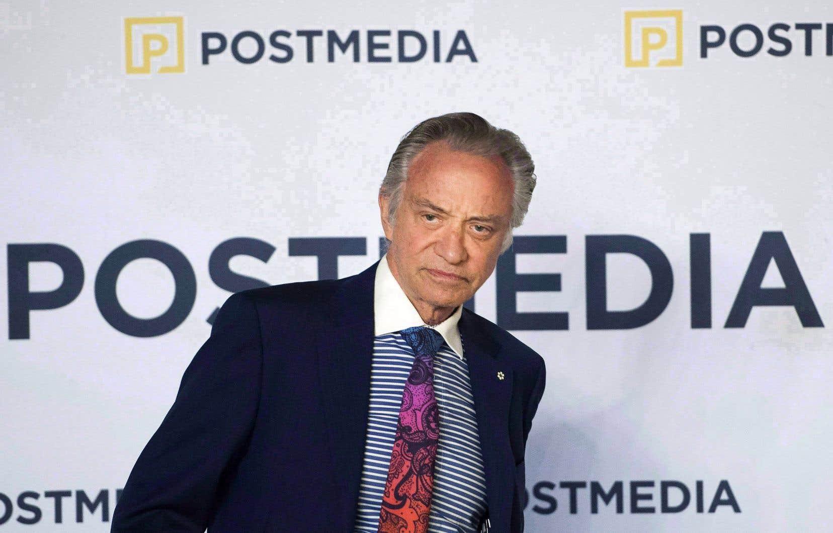 Paul Godfrey, le président-directeur général de Postmedia