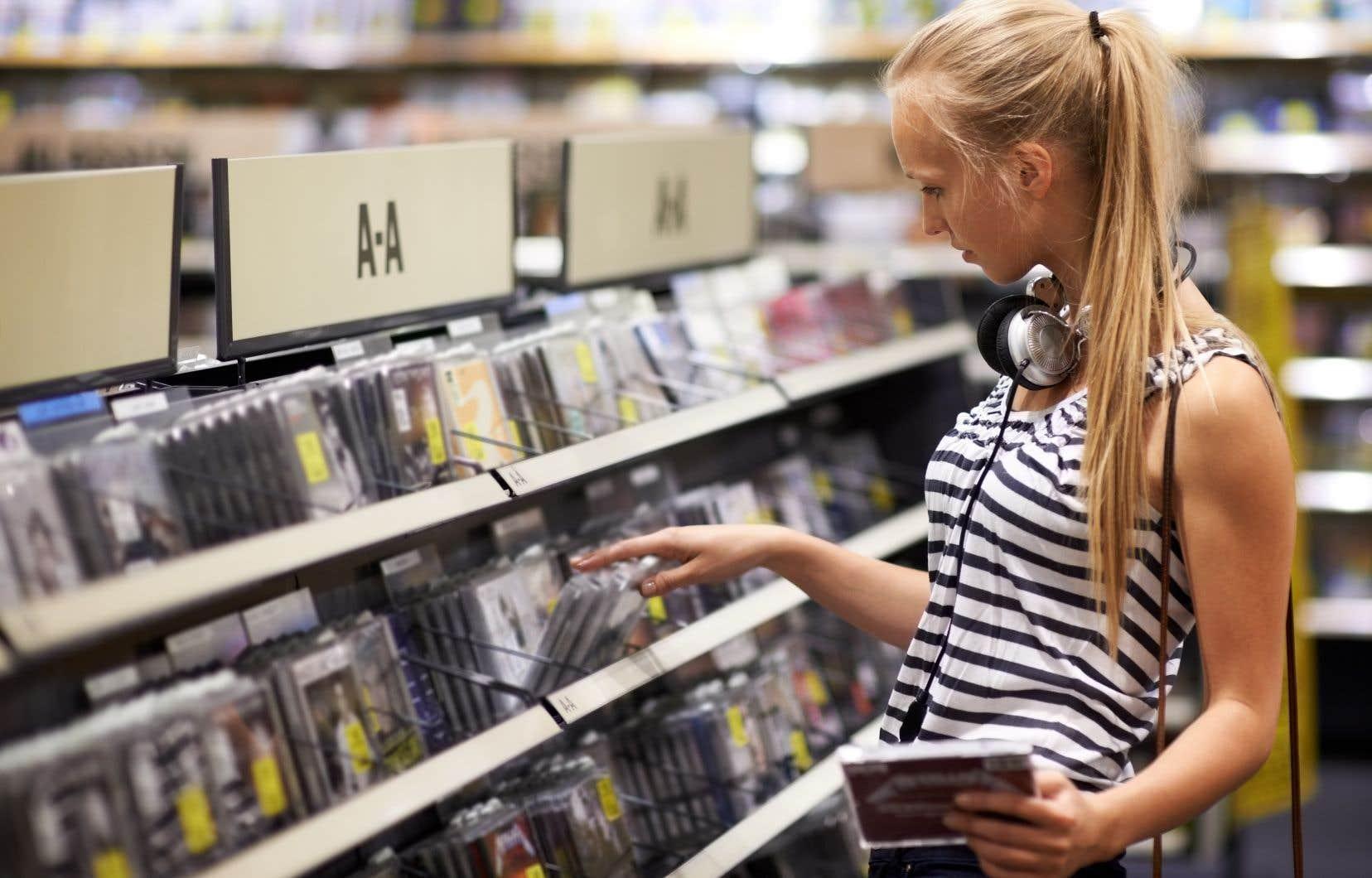 Au total, il s'est vendu l'équivalent de 5,75 millions d'albums en 2017, soit un million de moins que l'année précédente.