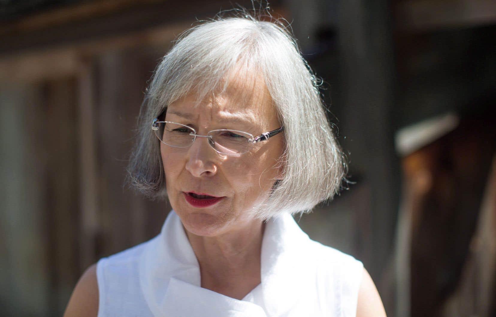 La conservatrice Cathy McLeod estime que la commissaire en chef, Marion Buller (sur la photo), doit être remplacée pour donner un nouveau souffle à la commission d'enquête.