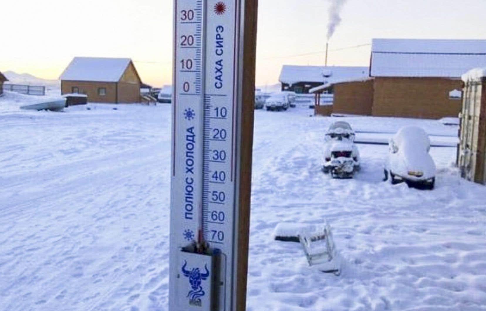 La région est connue pour ses températures très froides.