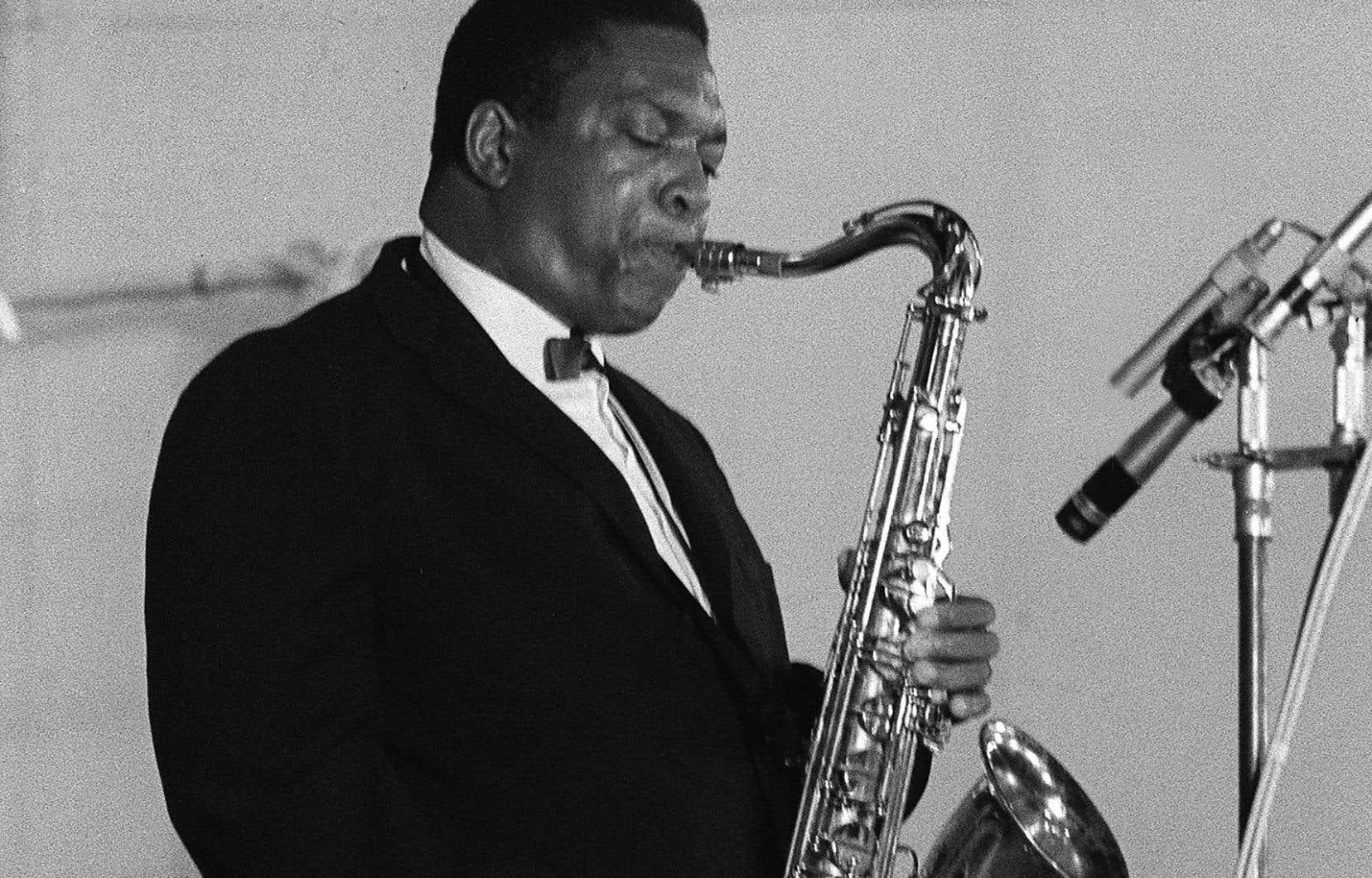 Le saxophoniste John Coltrane