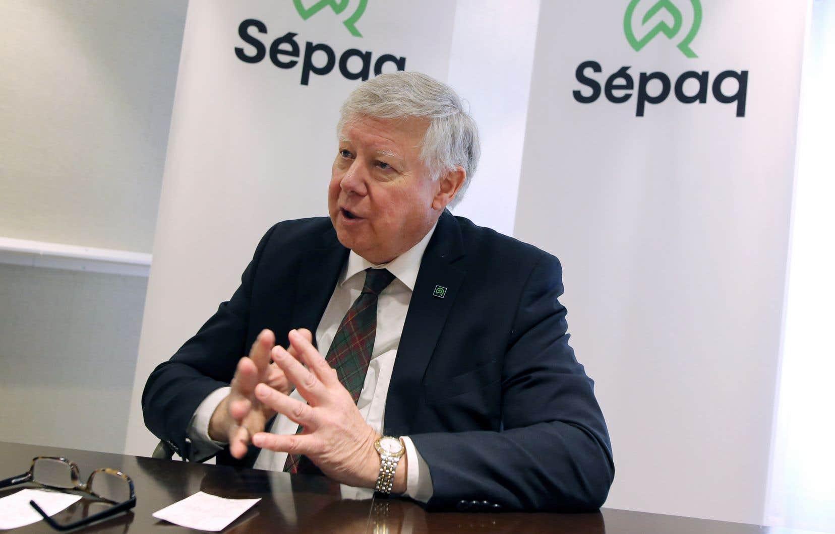 Le p.-d.g. de la SEPAQ, John MacKay, dit vouloir miser sur une approche plus «commerciale» que «comptable».