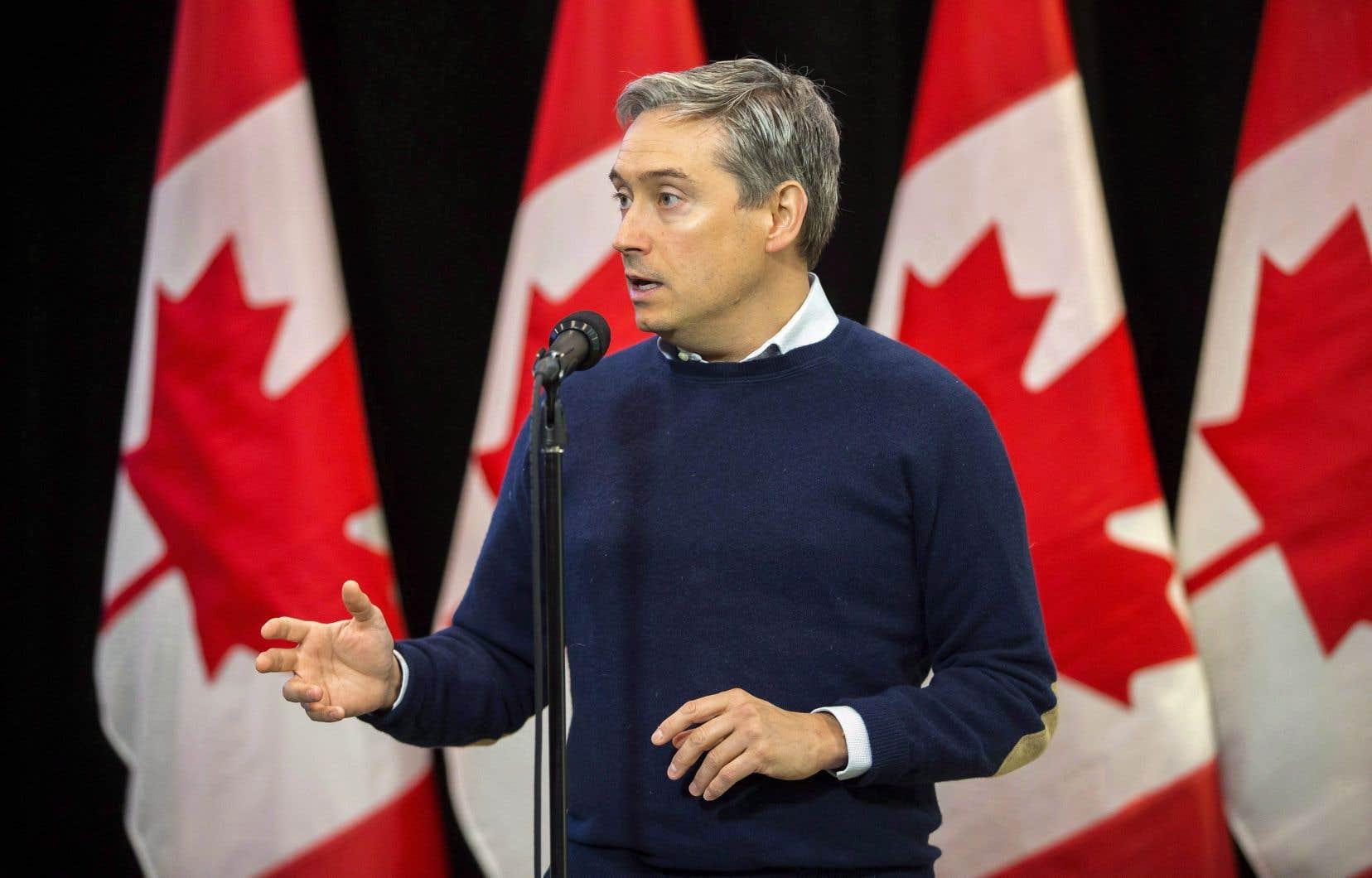 «Mon travail en tant que ministre du Commerce international est de protéger notre très grande réputation», a fait valoir François-Philippe Champagne lors de l'annonce à Ottawa.