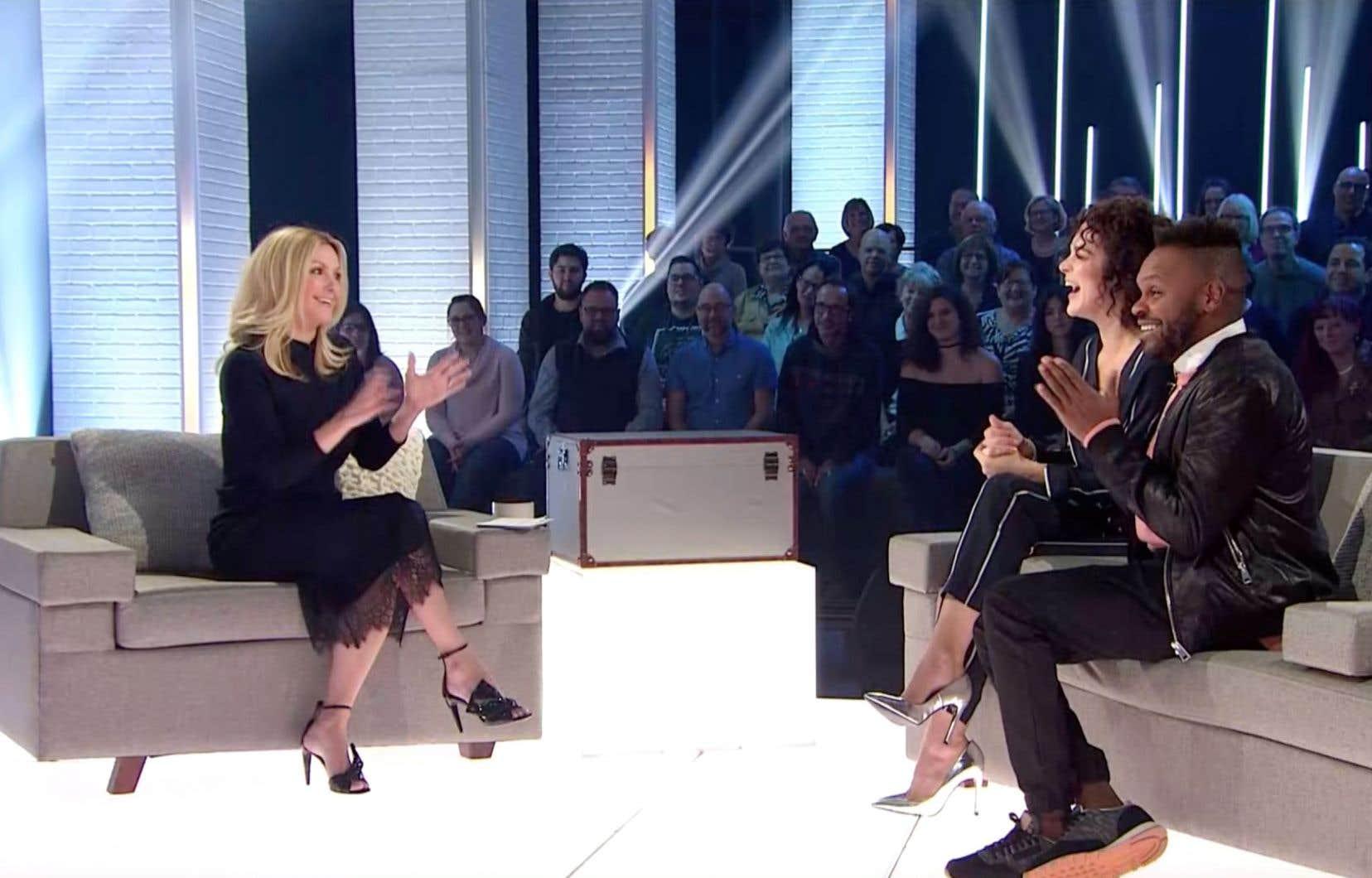 Véronique Cloutier aura pour premiers invités Hélène Bourgeois-Leclerc et Pierre-Yves Lord.