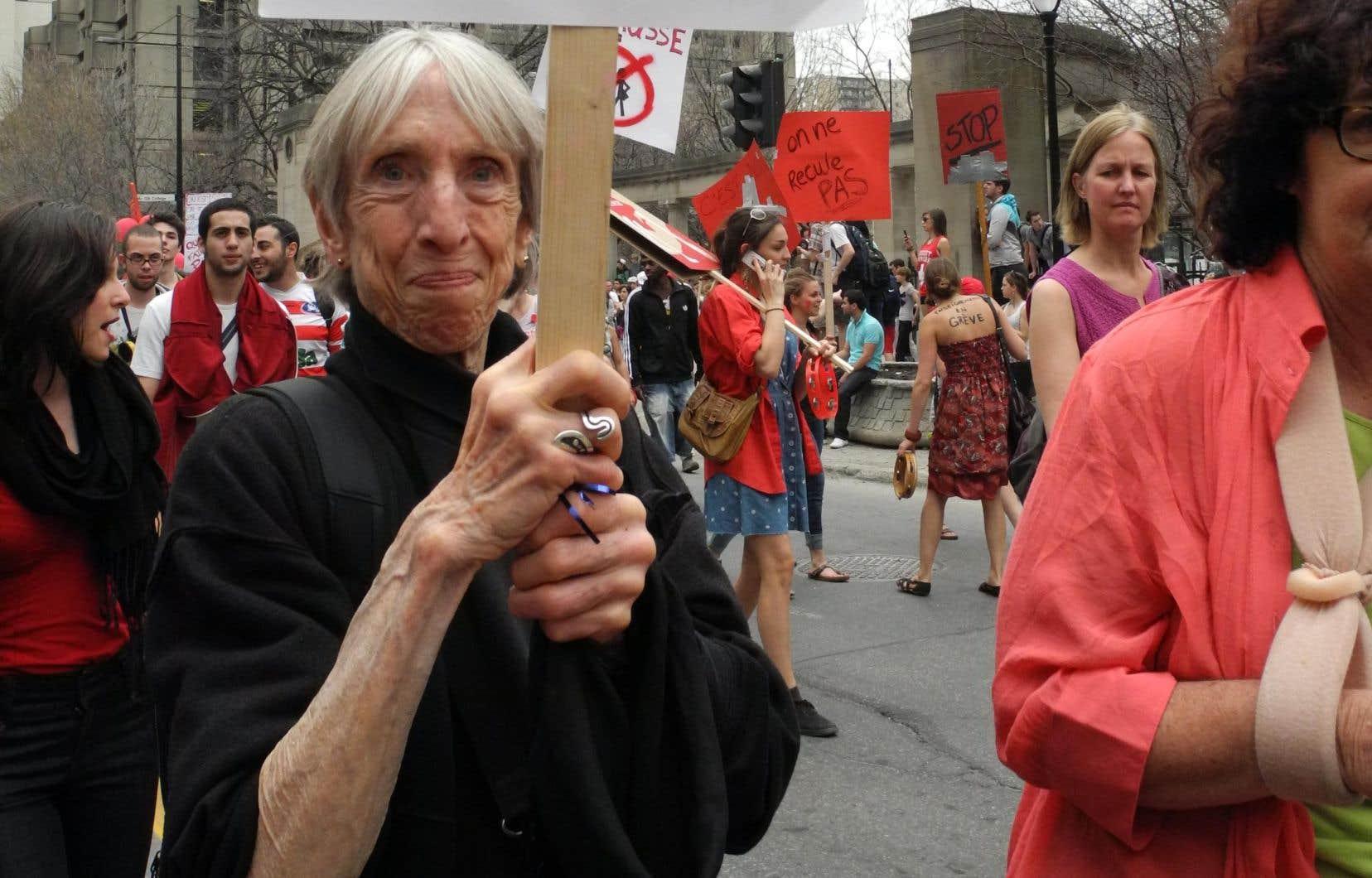 Les mouvements pour la justice sociale perdent en Abby Lippman une militante irremplaçable, décrite par plusieurs comme une force de la nature.