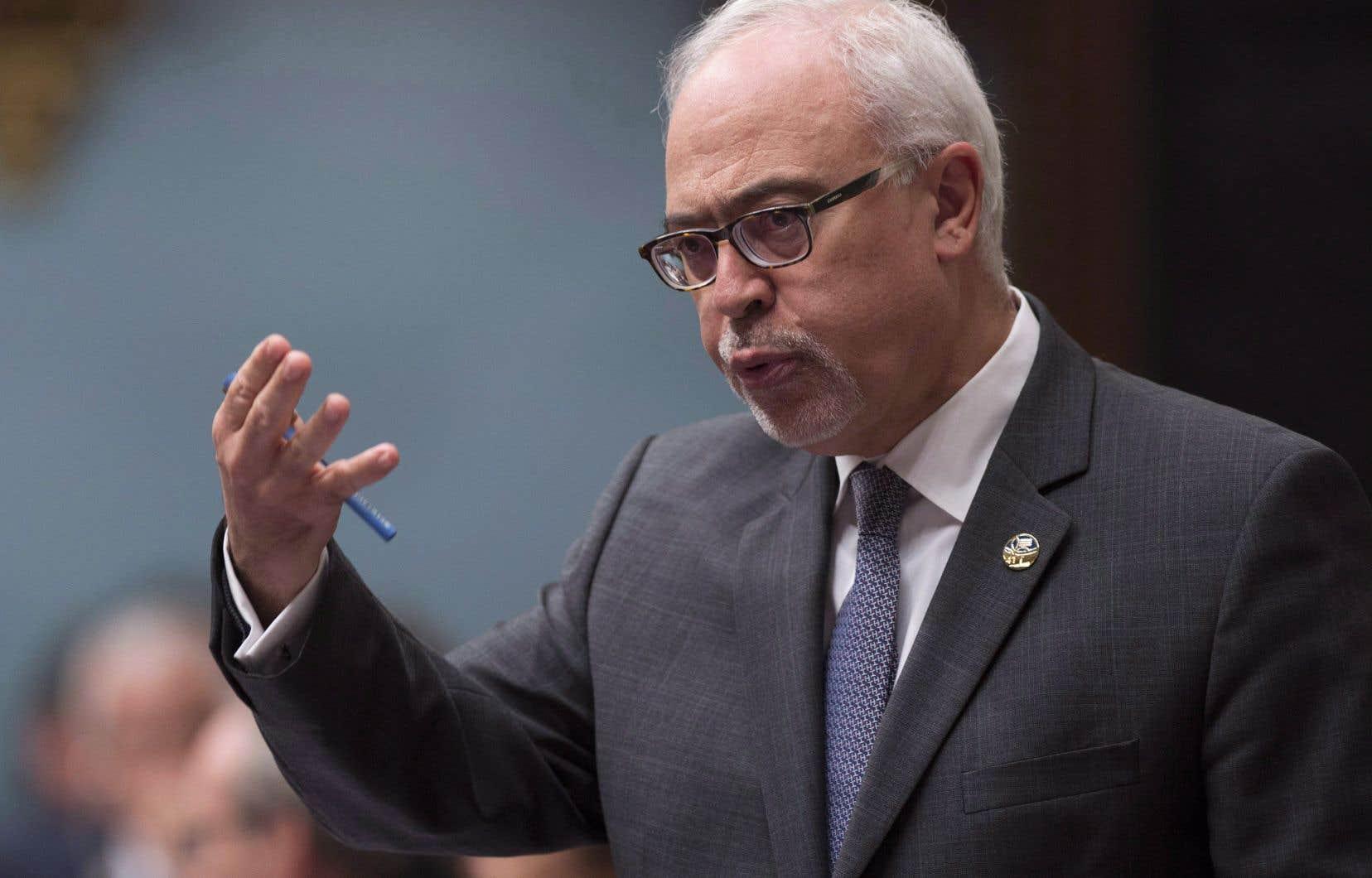 Le ministre des Finances, Carlos Leitão, a défendu le projet de loi présenté en octobre dernier.