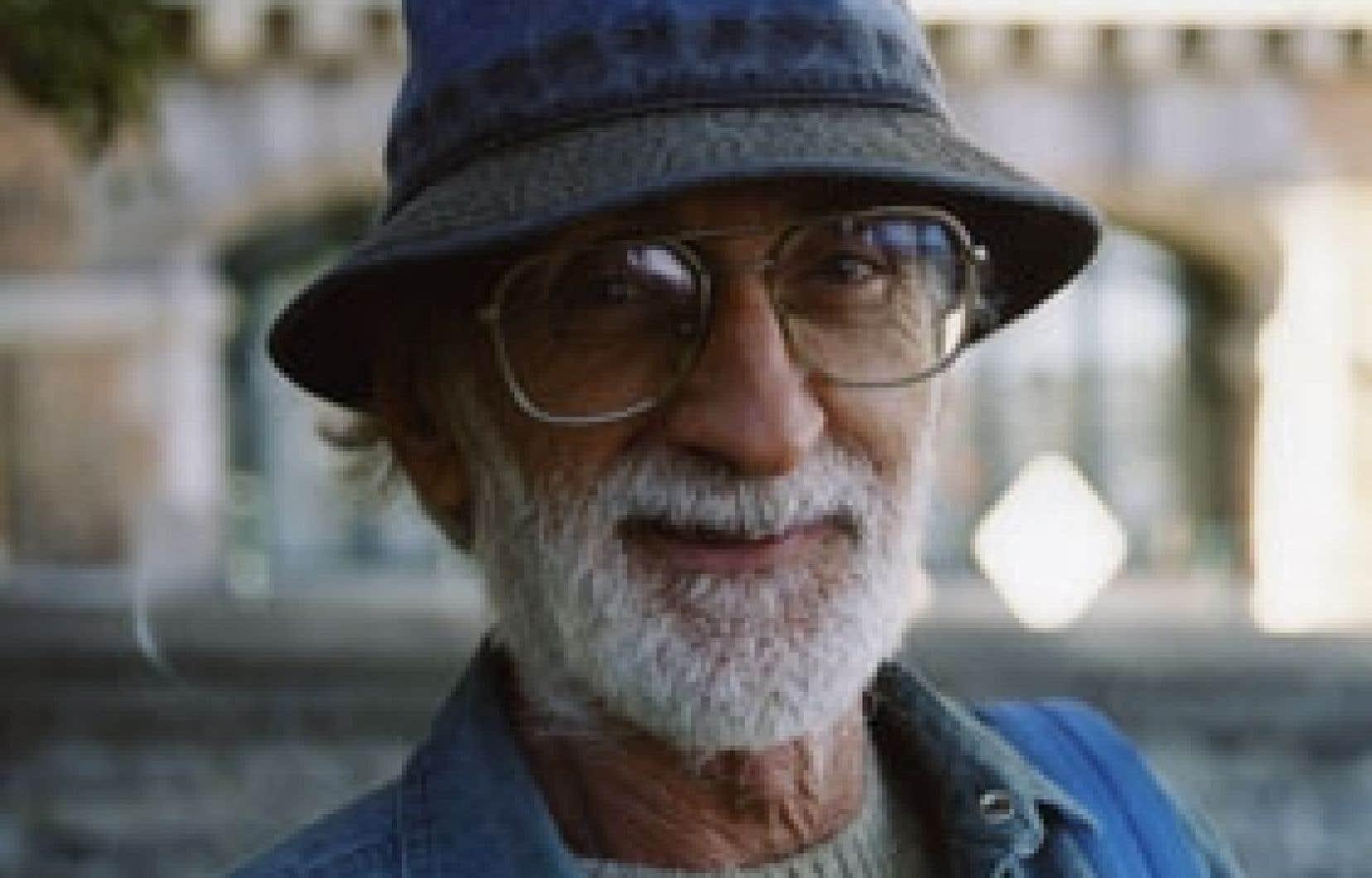 L'écrivain Jacques Poulin, lauréat du prestigieux prix Gilles-Corbeil . Photo: Pierre Filion