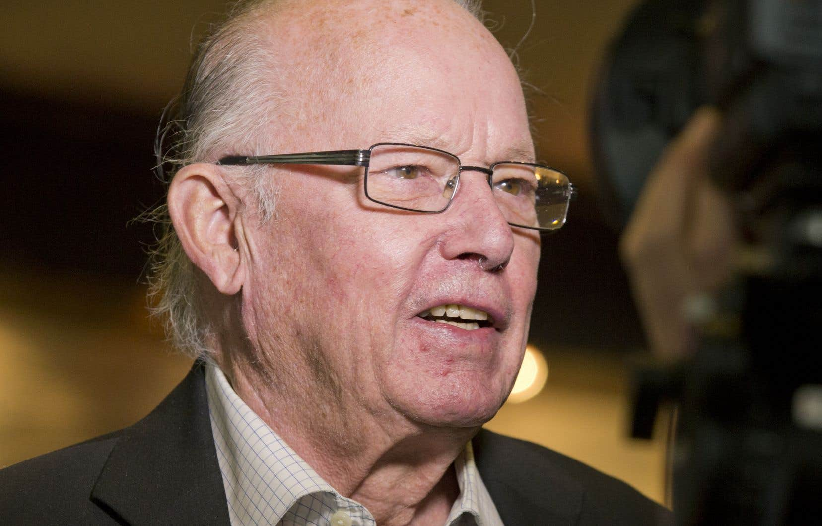 L'ex-premier ministre du Québec Bernard Landry