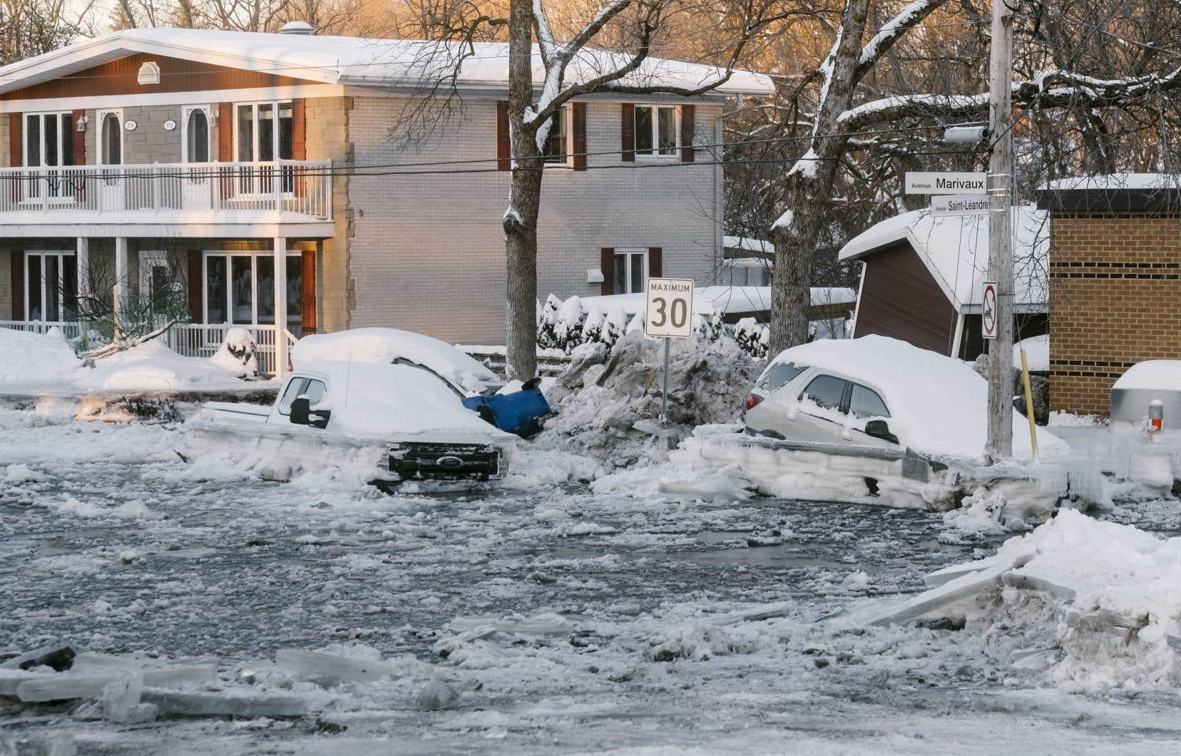 L'inondation a frappé quelque 70 résidants.