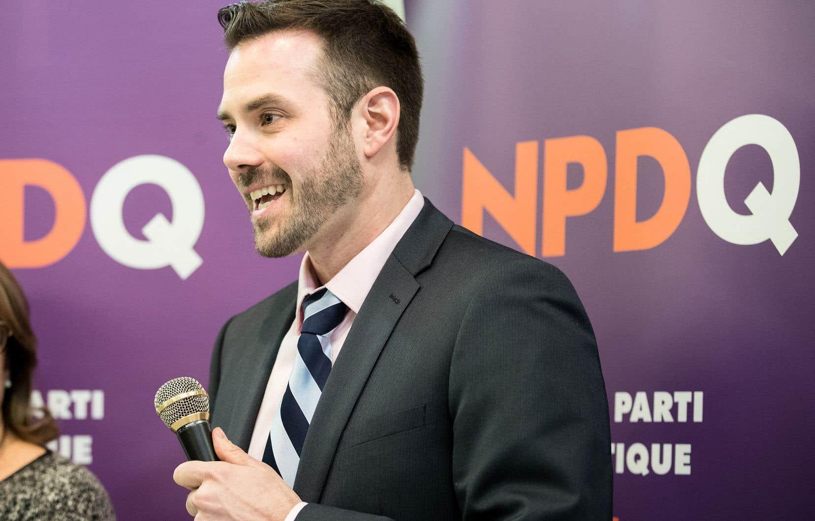Le nouveau chef, Raphaël Fortin (photo), a devancé son adversaire, Raymond Côté, en obtenant 62% des voix.