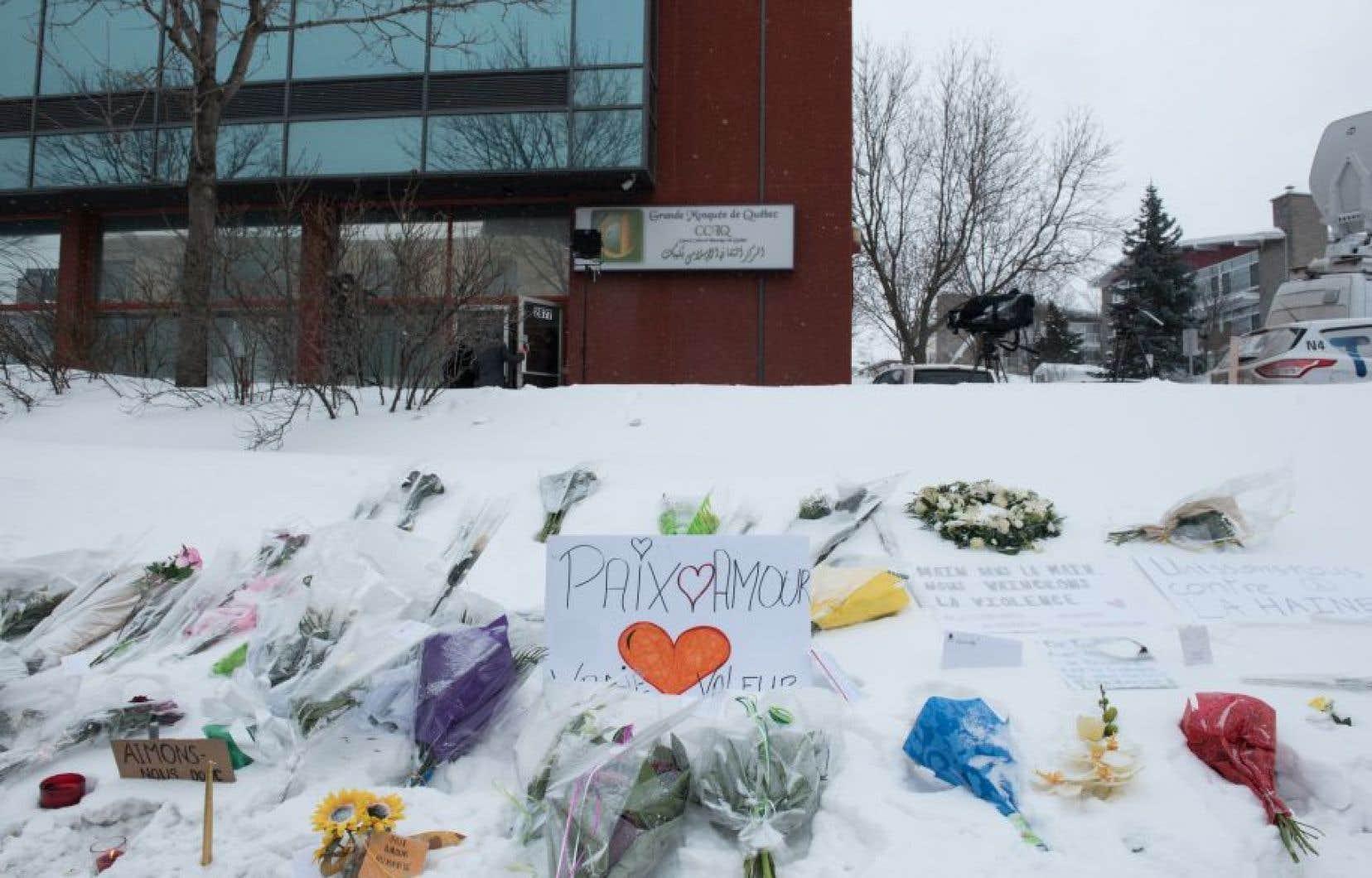Le 29janvier 2017, un tireur a pénétré dans la grande mosquée de Québec.