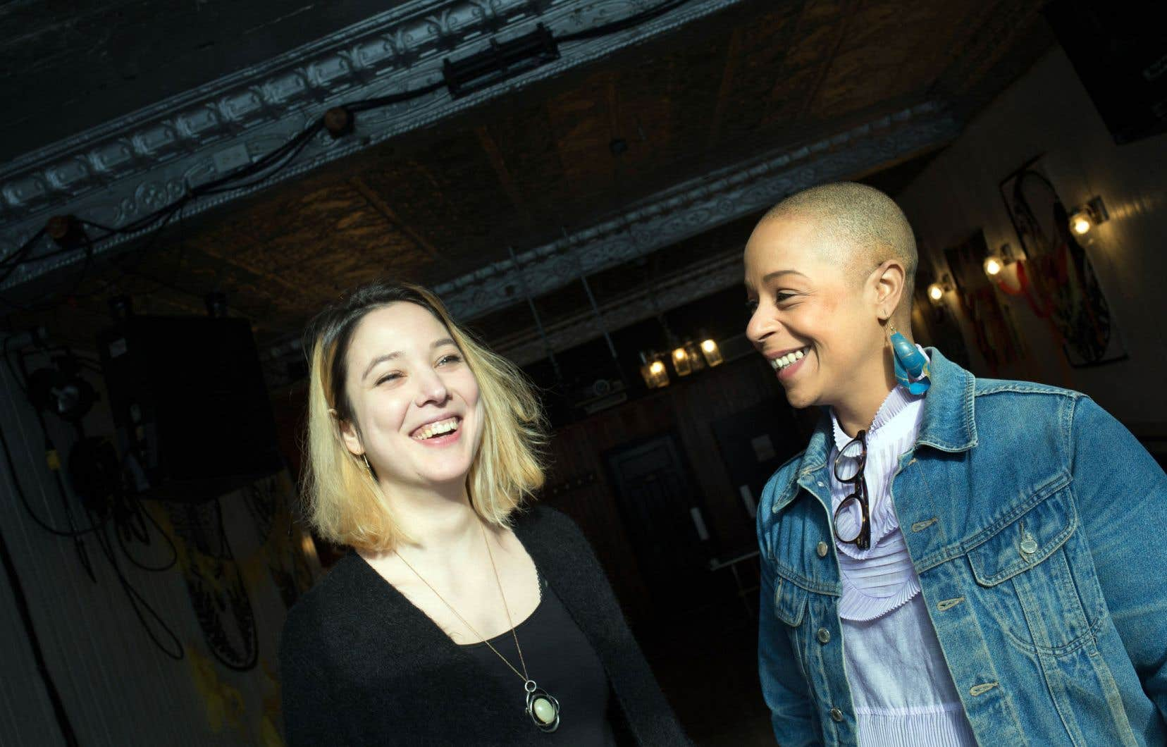 Amélie Malissard et Julie Richard espèrent que leur programmation pleine de diversité va inspirer d'autres programmateurs.