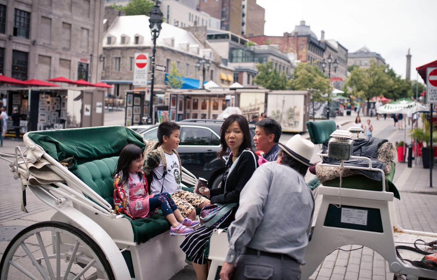 Selon le ministère québécois du Tourisme, les Chinois ont dépensé 190millions au Québec en 2017.