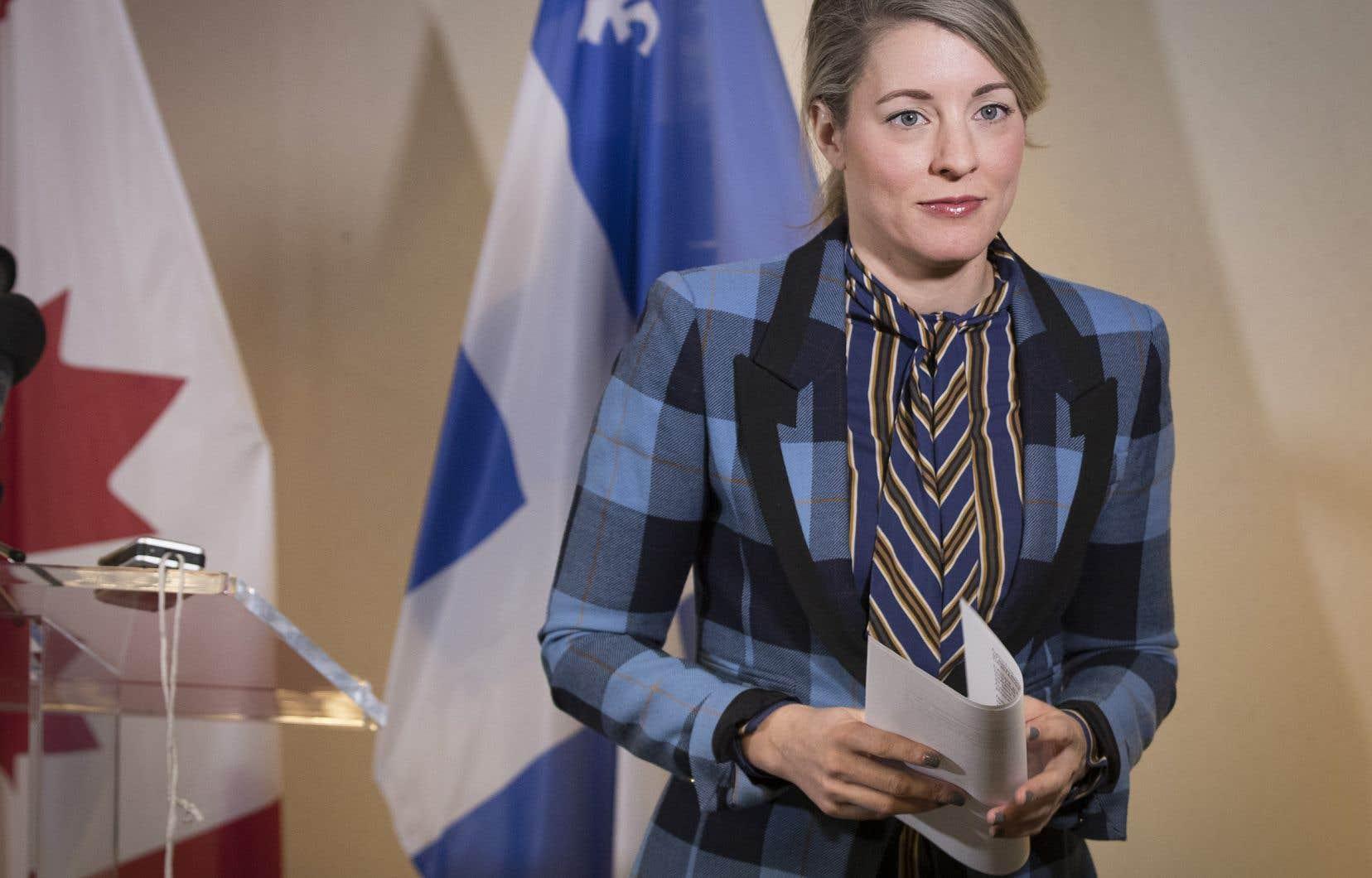 «Nous nous sommes tenus debout pour nos industries culturelles et nous avons obtenu l'accord unanime des pays membres pour garantir la protection de notre culture», s'est réjouie la ministre Mélanie Joly en conférence de presse.