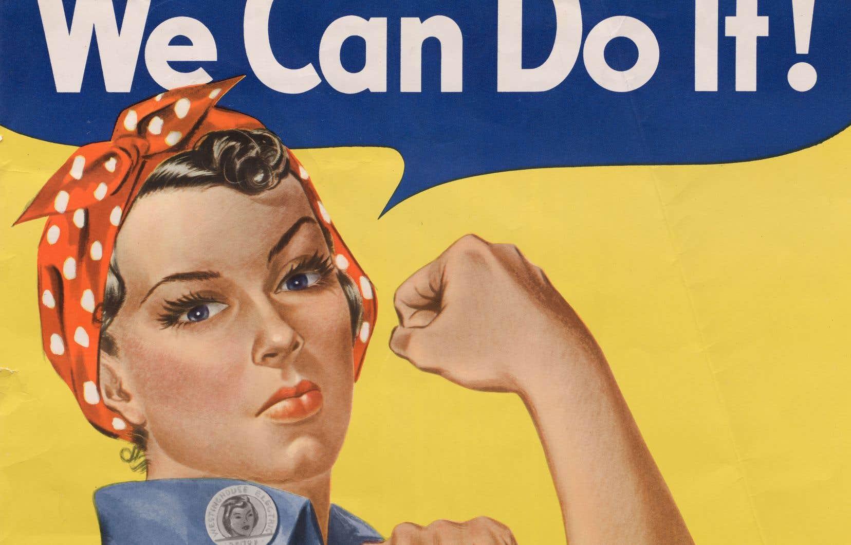 Le but de cette affiche réalisée en 1943 était de motiver l'ardeur au travail des ouvrières de l'usine Westinghouse Electric en temps de guerre.