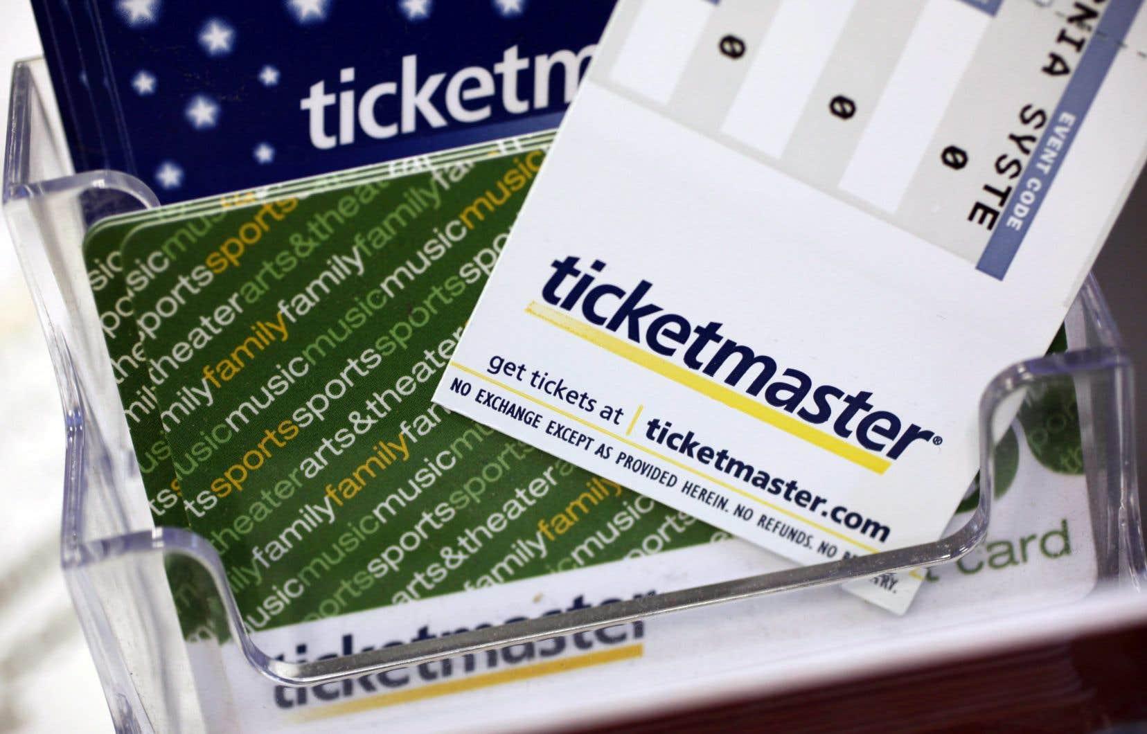 Le bureau de la concurrence poursuit ticketmaster pour publicité
