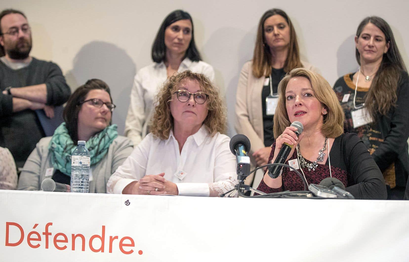 L'ex-ministre libérale Marguerite Blais explique son appui aux revendications des militants pour l'indépendance duCHU Sainte-Justine autant par ses expériences personnelles à cet hôpital que par son combat pour les proches aidants.