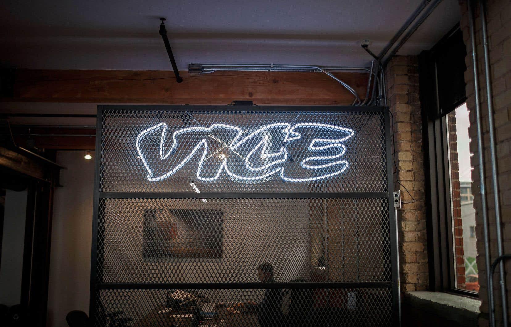 Deux des employés de Vice au Québec se sont prévalus de l'option de départ volontaire offerte par l'employeur.