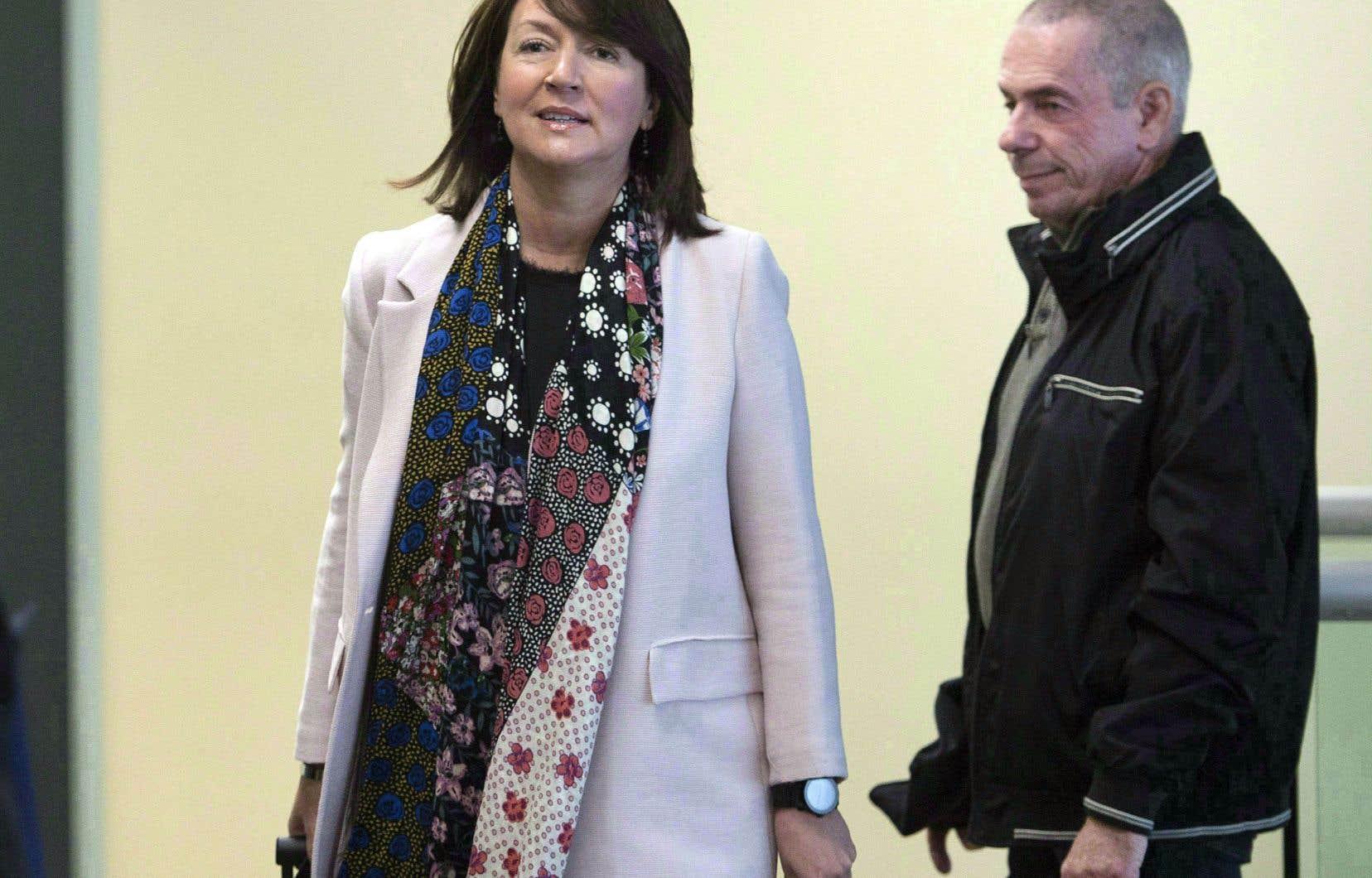 L'ex-vice-première ministre Nathalie Normandeau avait été arrêtée avec six autres personnes, le 17 mars 2016, relativement à des accusations de corruption, de fraude envers le gouvernement et d'abus de confiance.