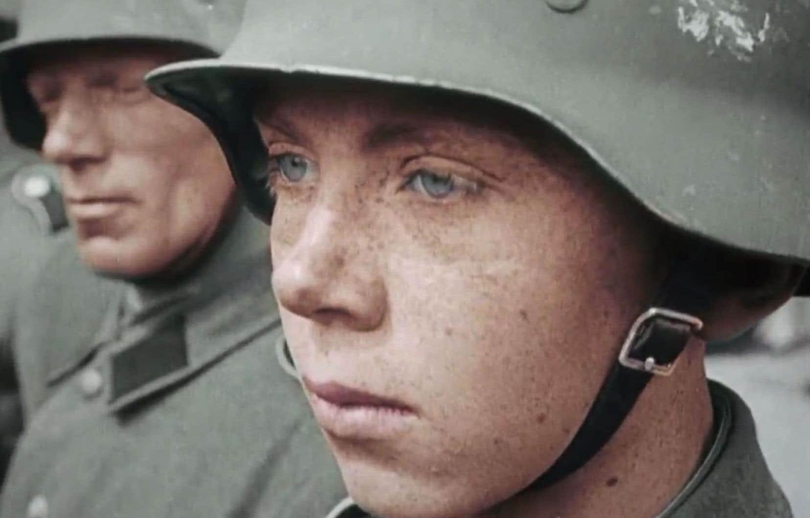 Dans le documentaire «Dans la tête des SS», des soldats parlent ouvertement des crimes commis pendant la Deuxième Guerre mondiale au nom de la «religion de la race».