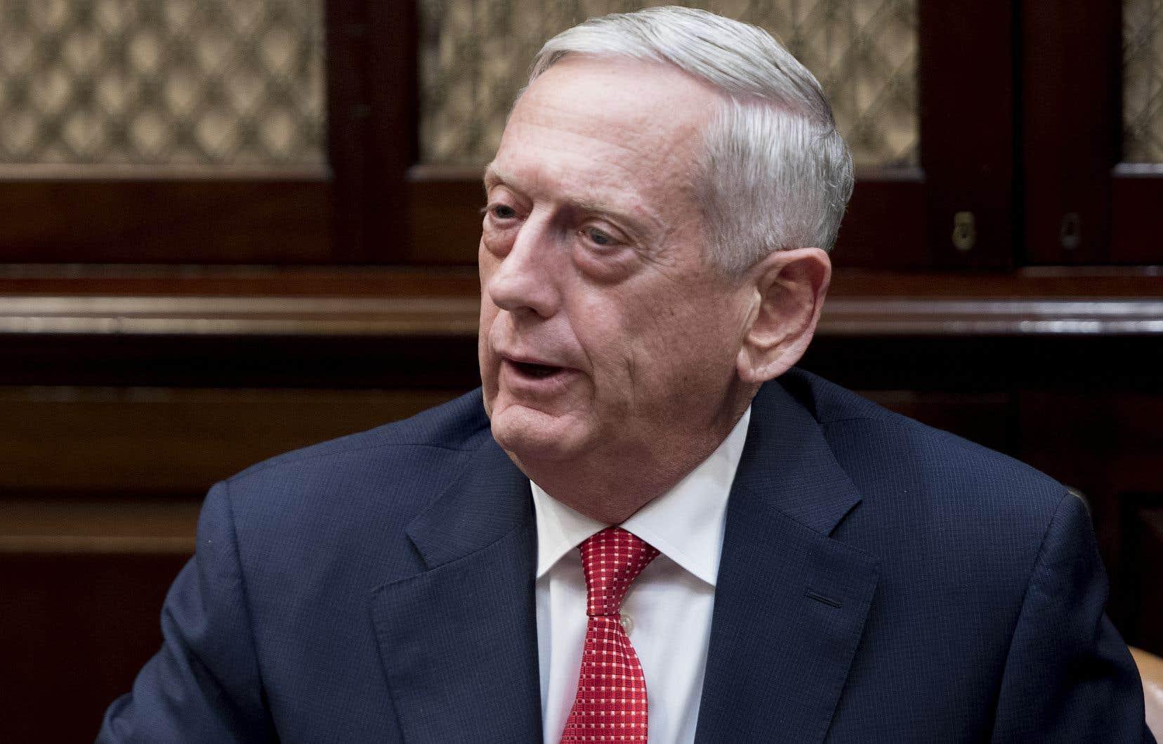 Le secrétaire américain de la Défense, Jim Mattis