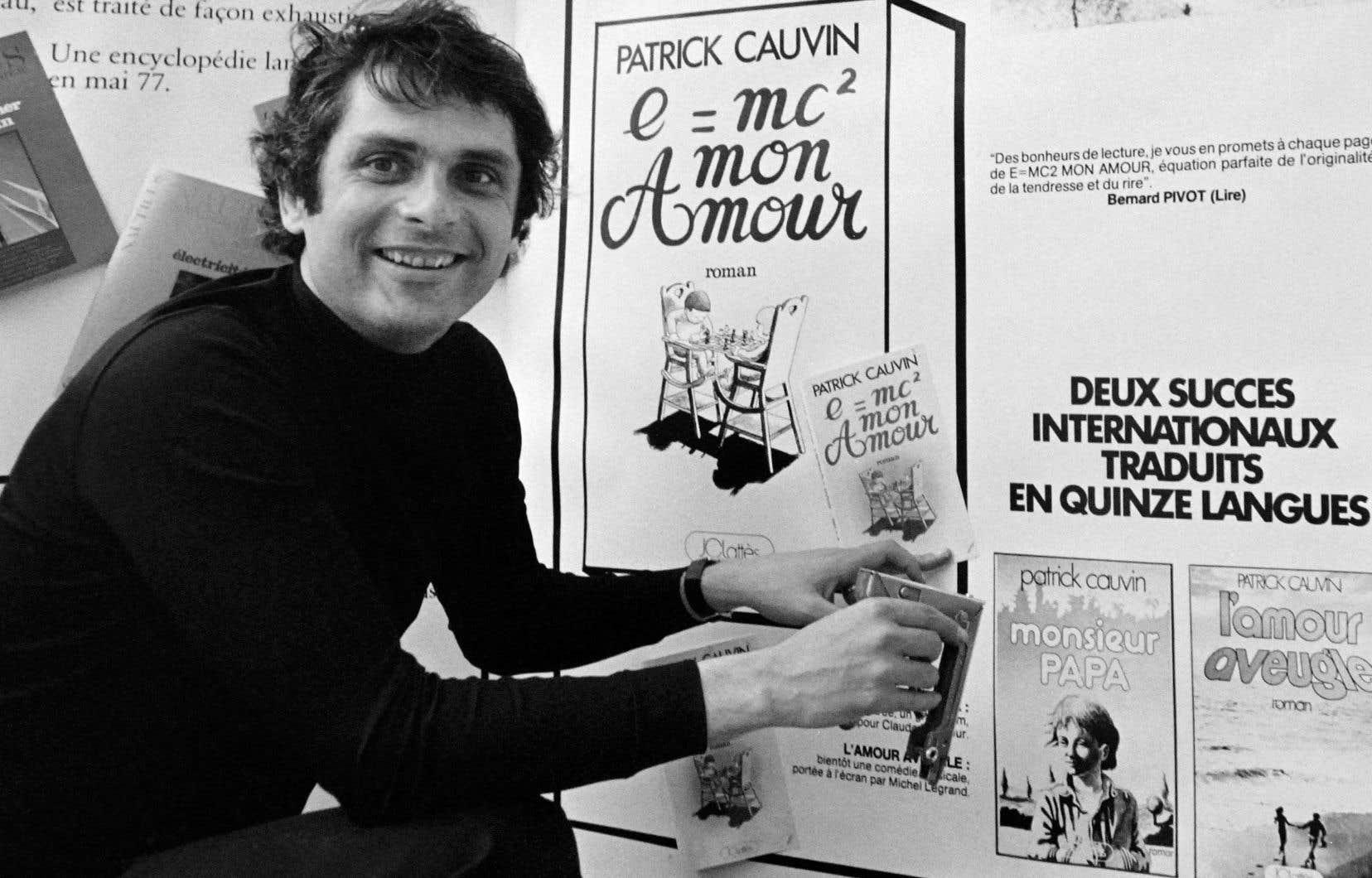 Jean-Claude Lattès, au Festival du livre de Nice, en 1977