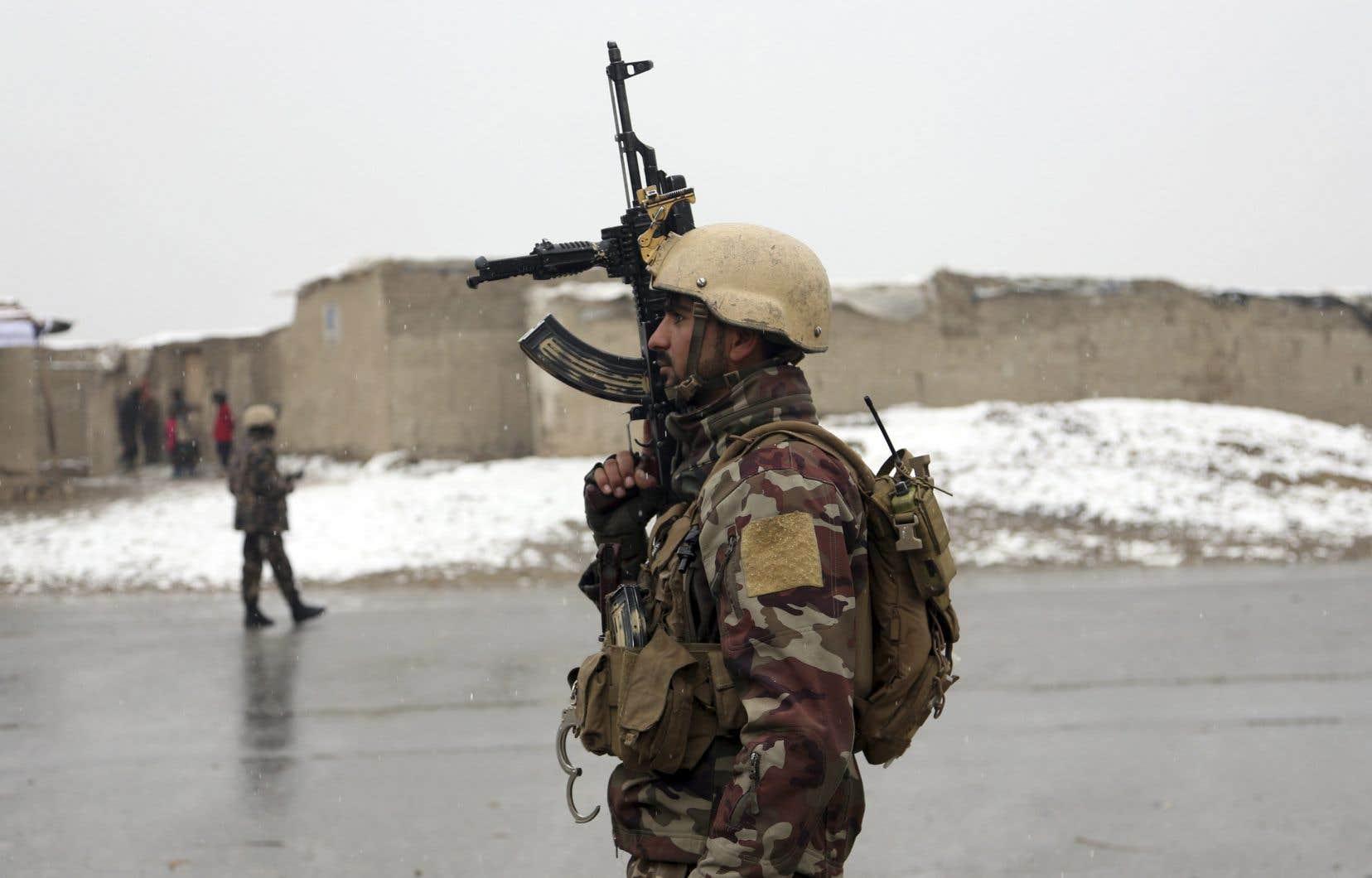 Le niveau d'alerte en vigueur depuis une dizaine de jours reste maximal à Kaboul.