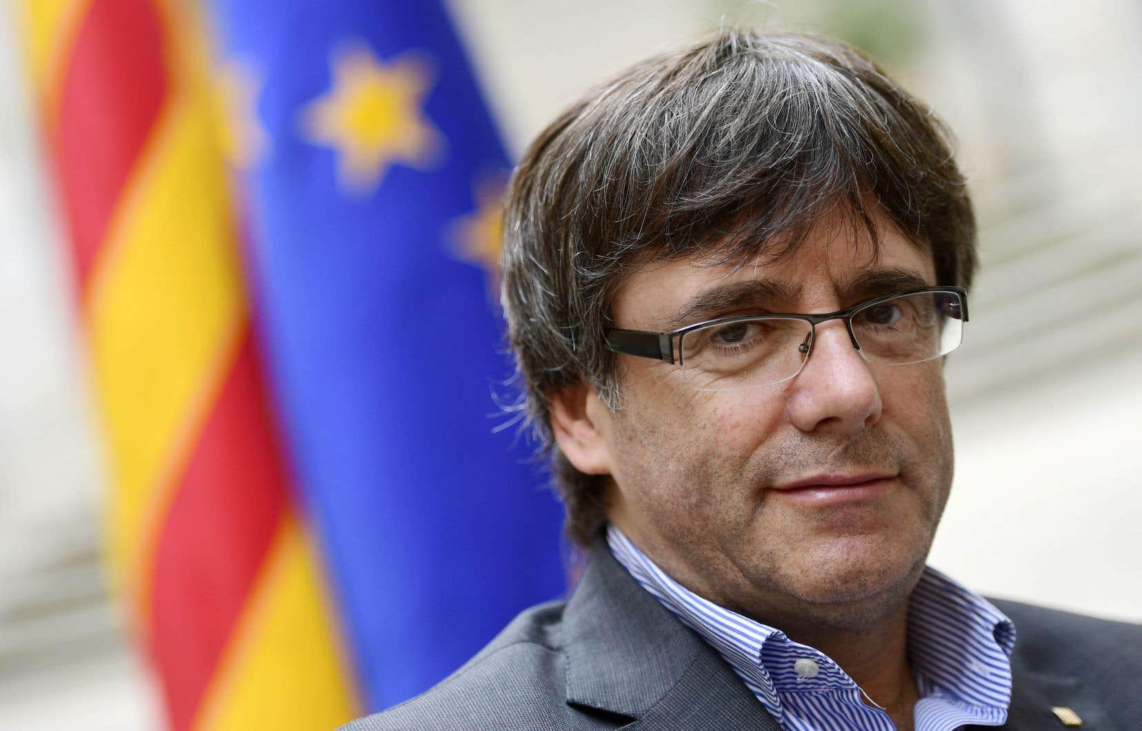 <p>Carles Puigdemont, en septembre dernier</p>